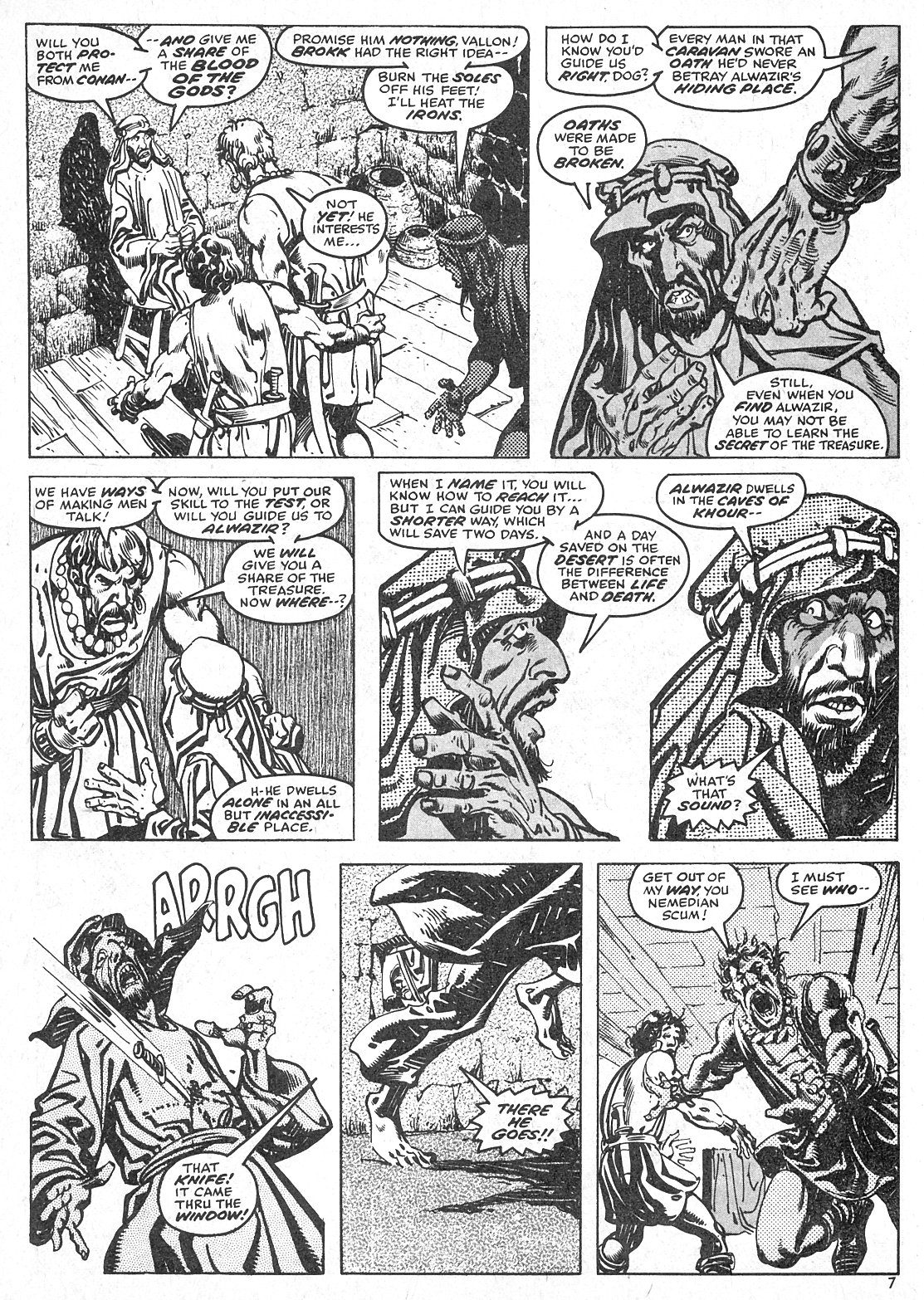 The Savage Sword Of Conan Issue #28 #29 - English 7