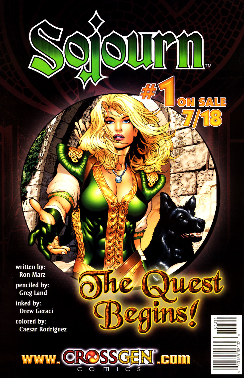 Read online Scion comic -  Issue #13 - 32