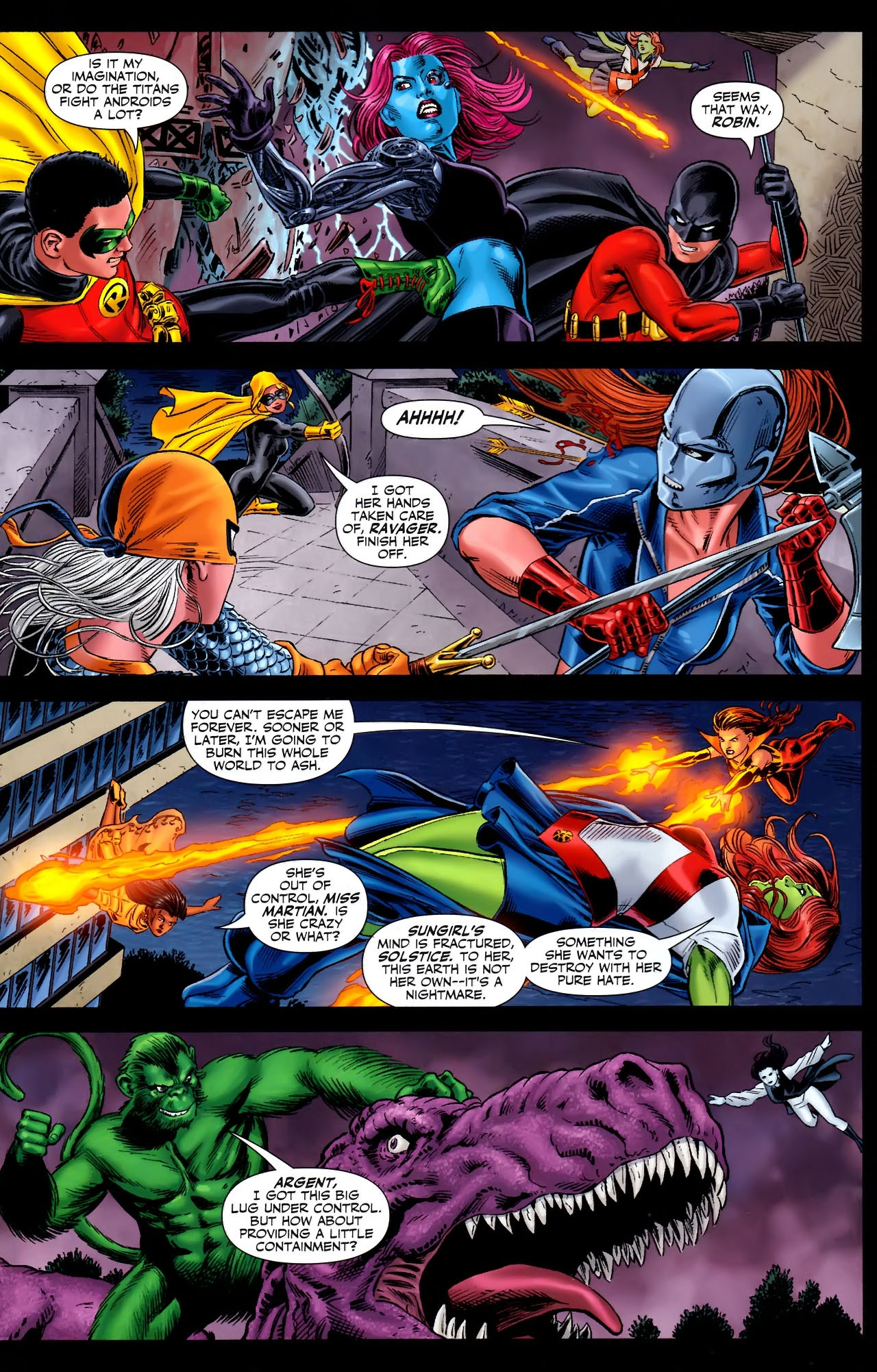 Teen Titans (2003) #100 #110 - English 6