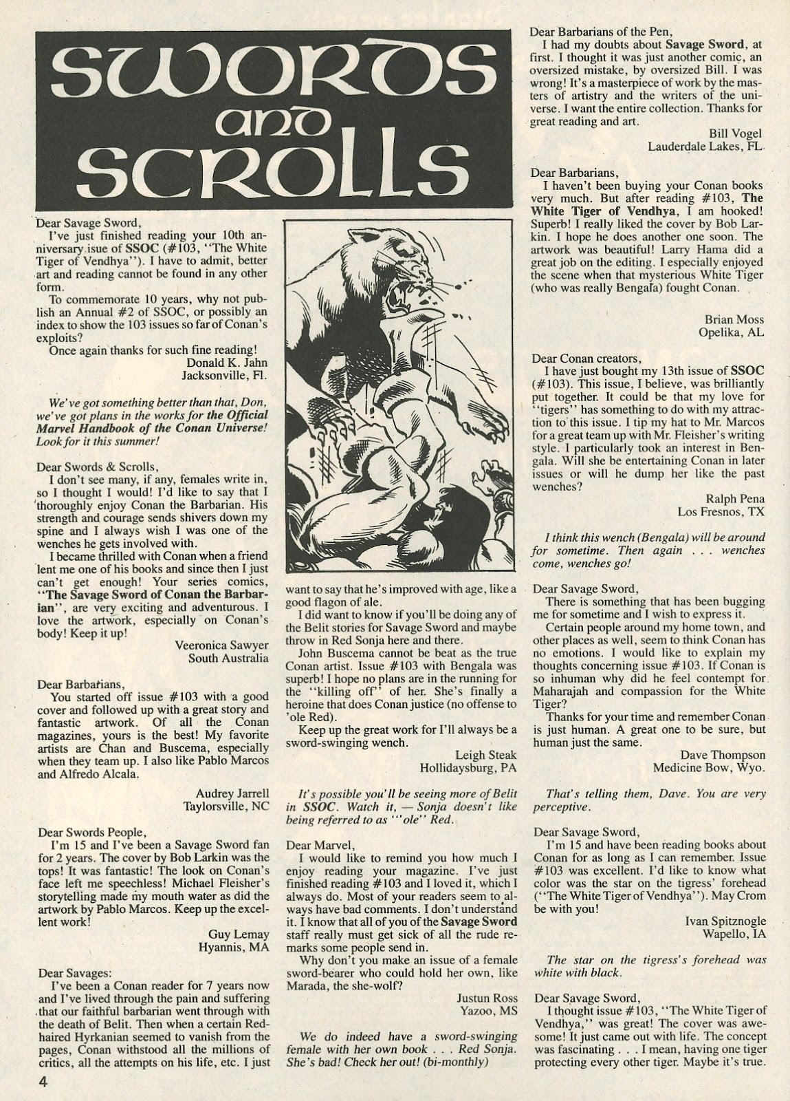 The Savage Sword Of Conan Issue #107 #108 - English 4