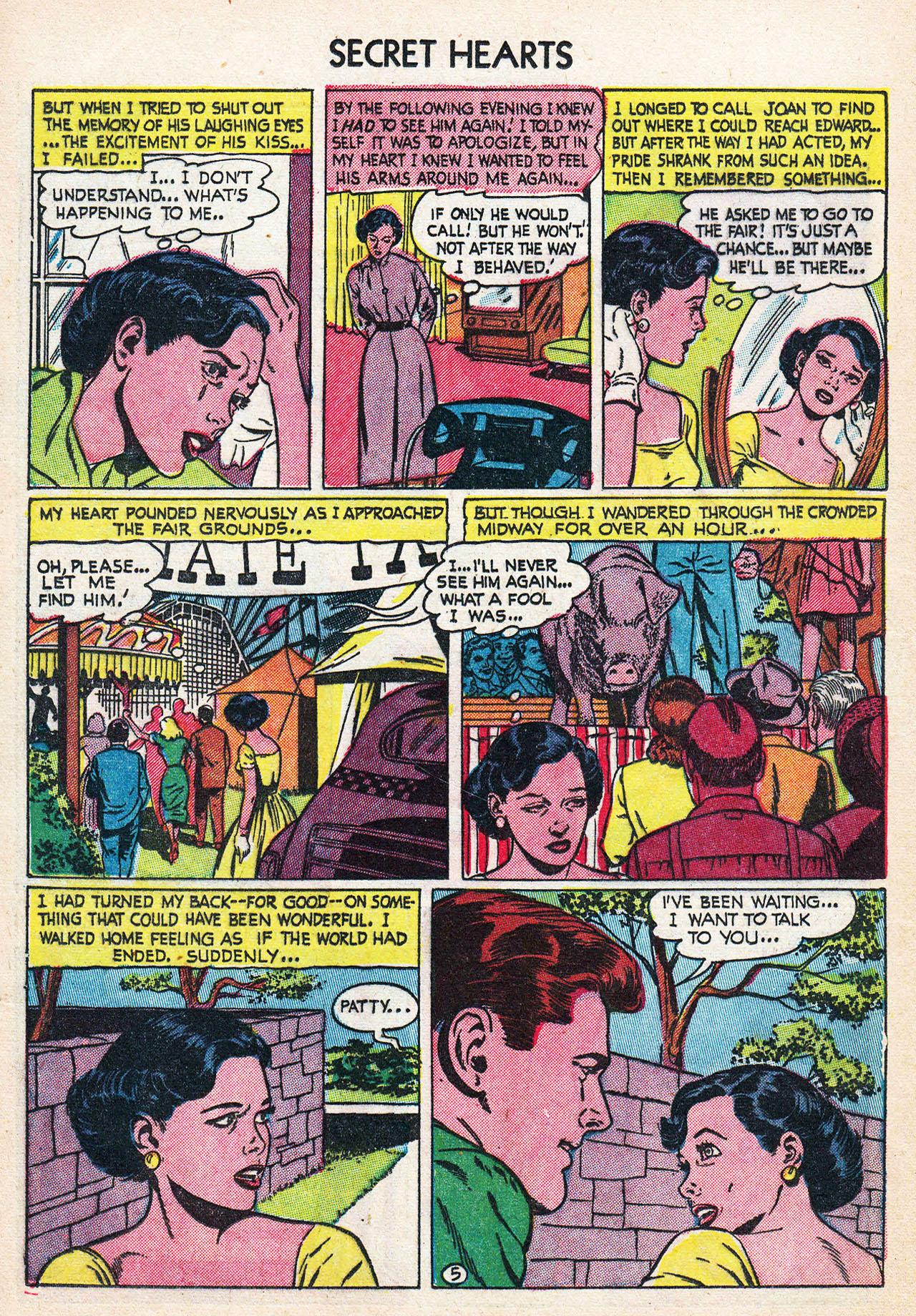 Read online Secret Hearts comic -  Issue #24 - 16