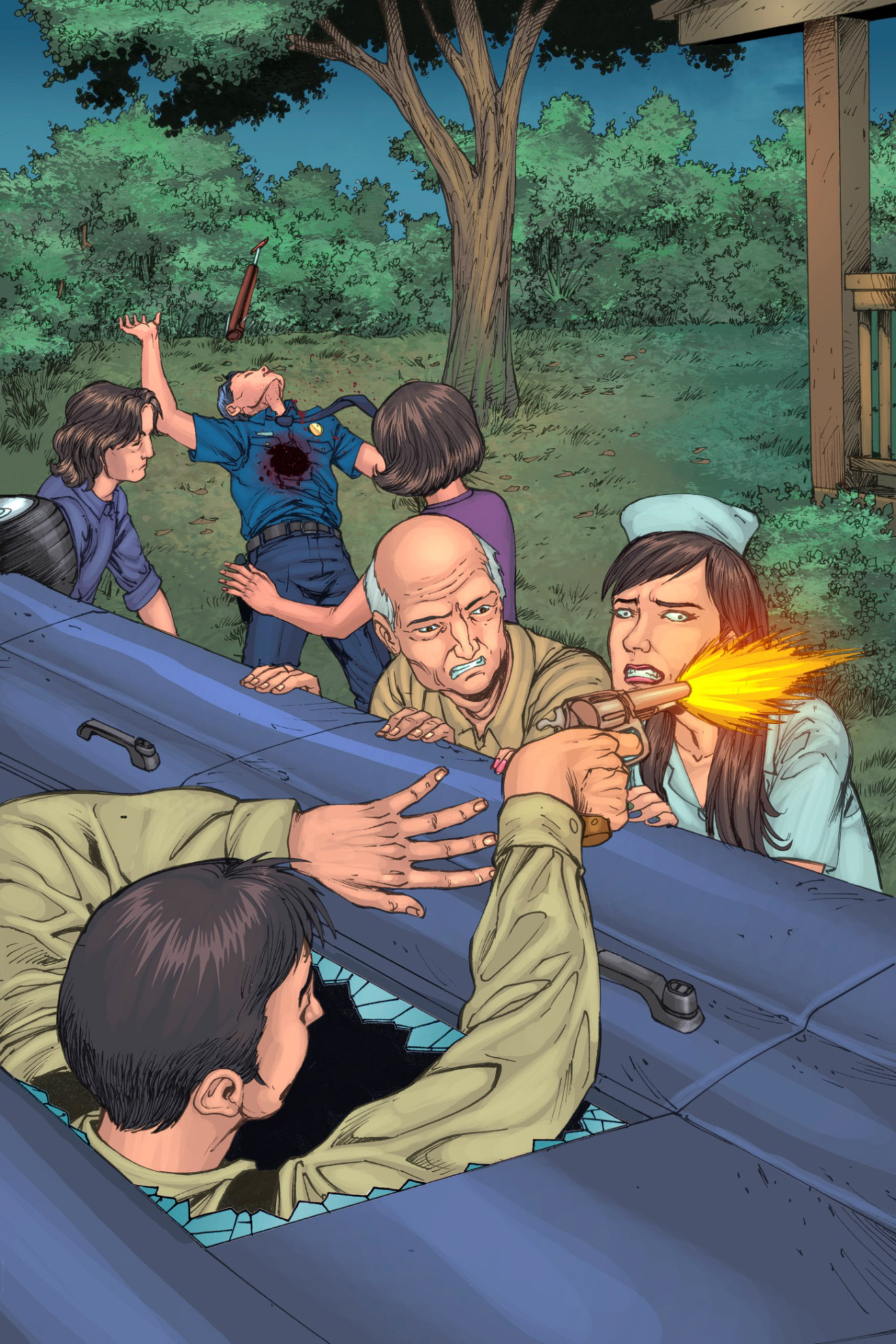 Read online Z-Men comic -  Issue #3 - 123