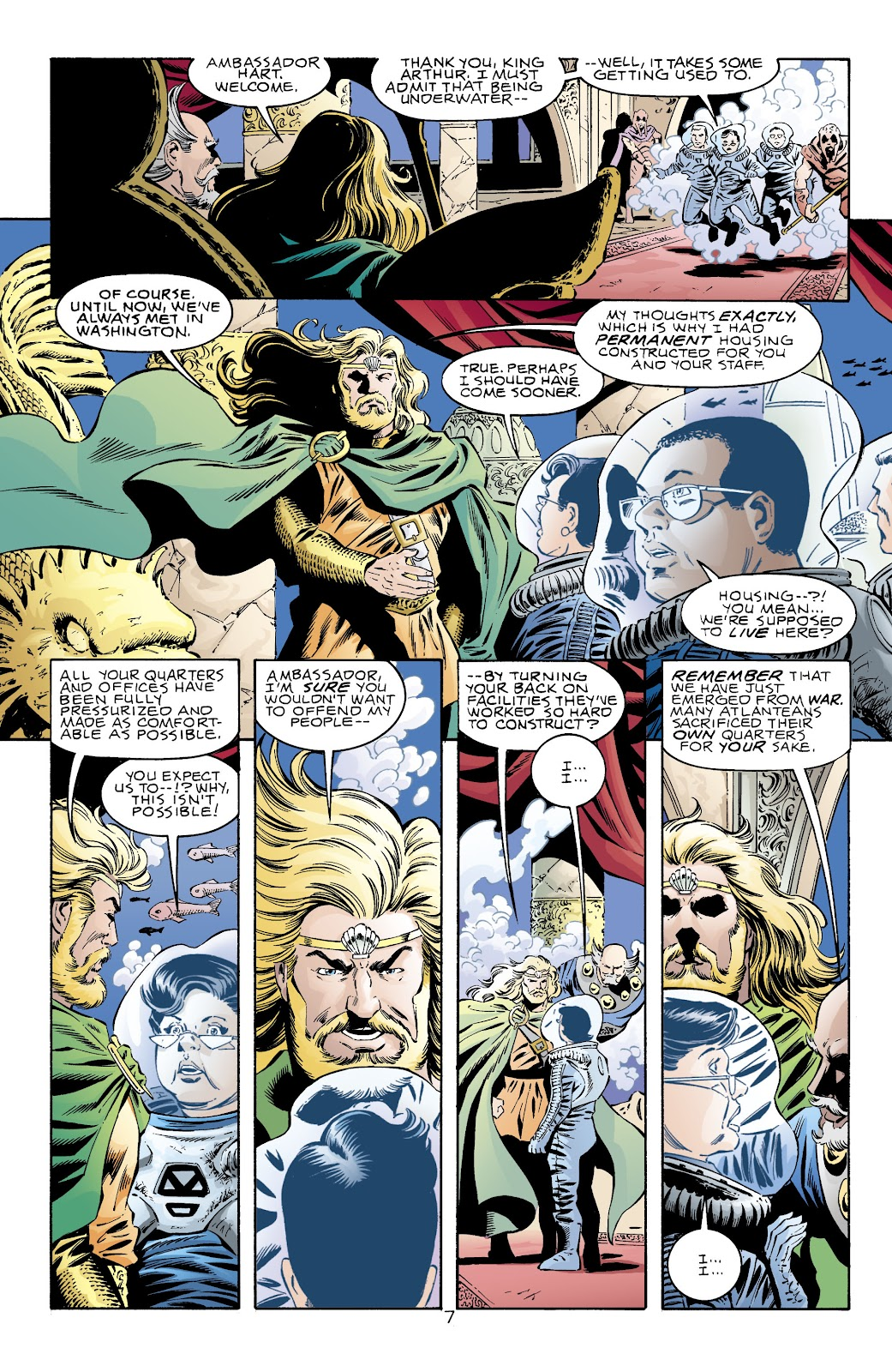 Aquaman (1994) Issue #71 #77 - English 8