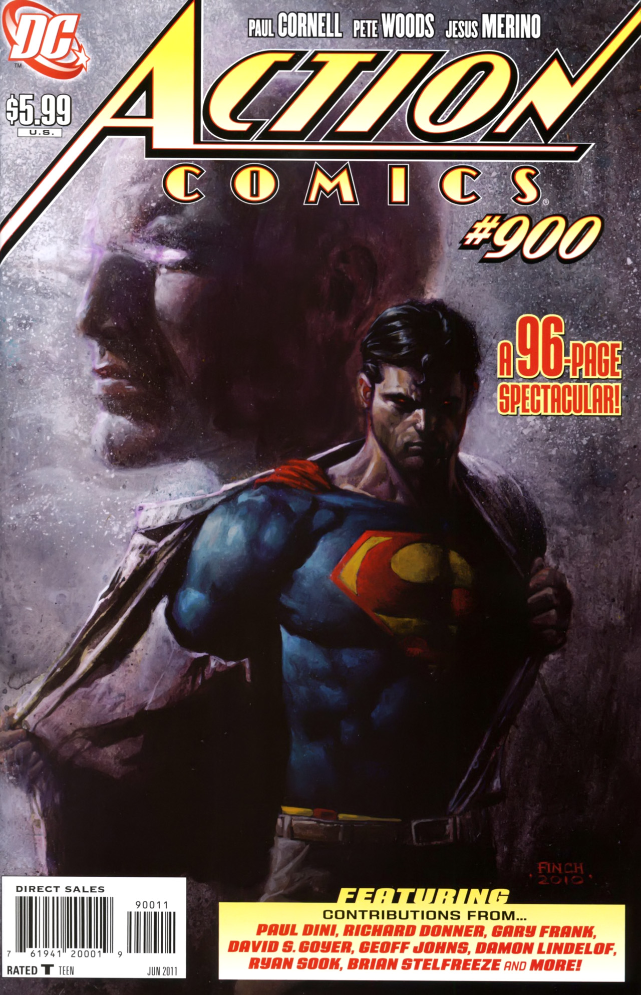 Action Comics (1938) 900 Page 1