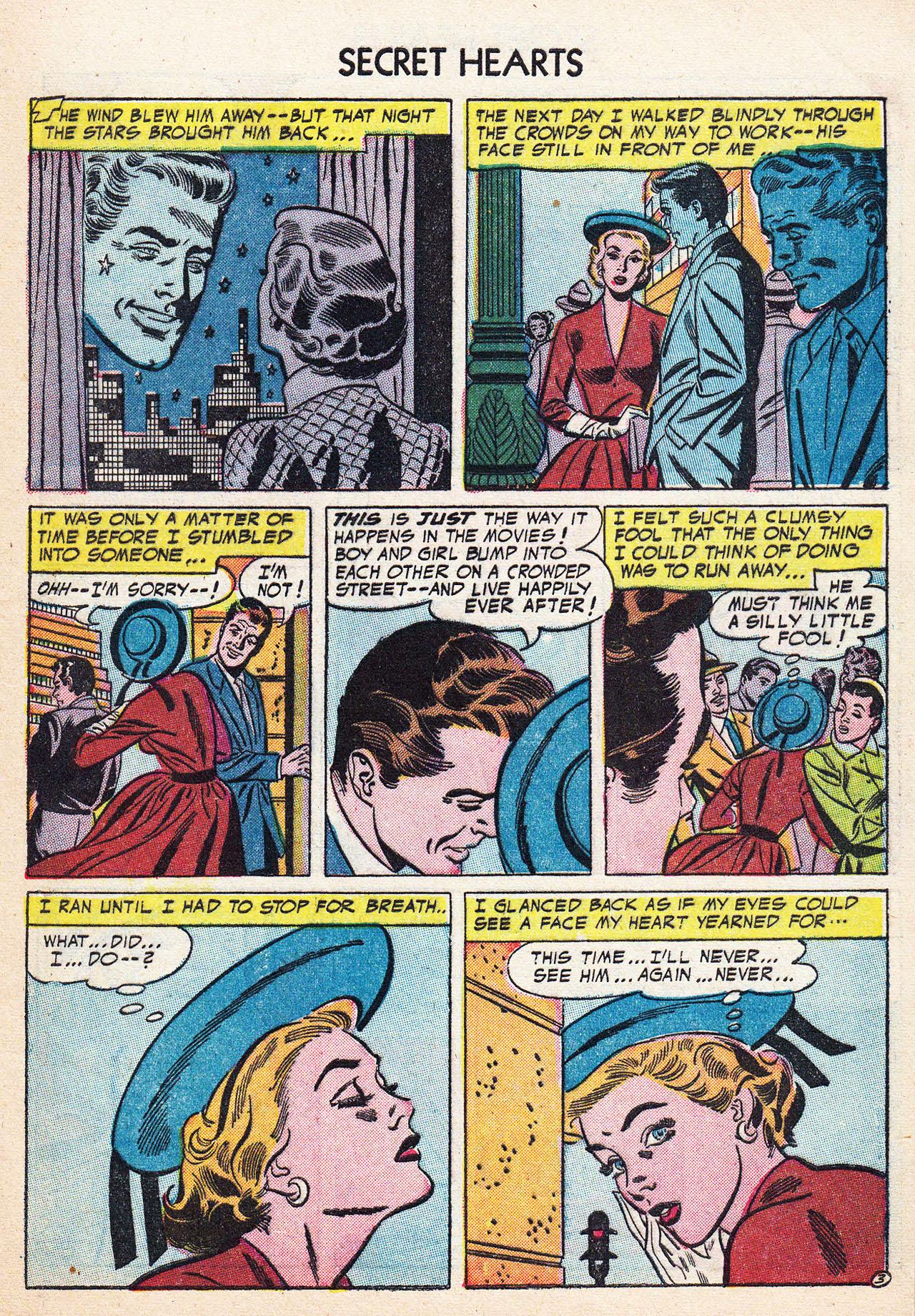 Read online Secret Hearts comic -  Issue #24 - 29