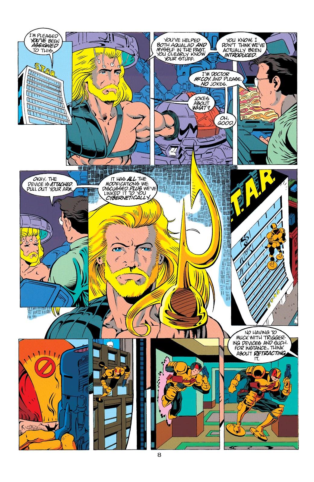 Aquaman (1994) Issue #9 #15 - English 9