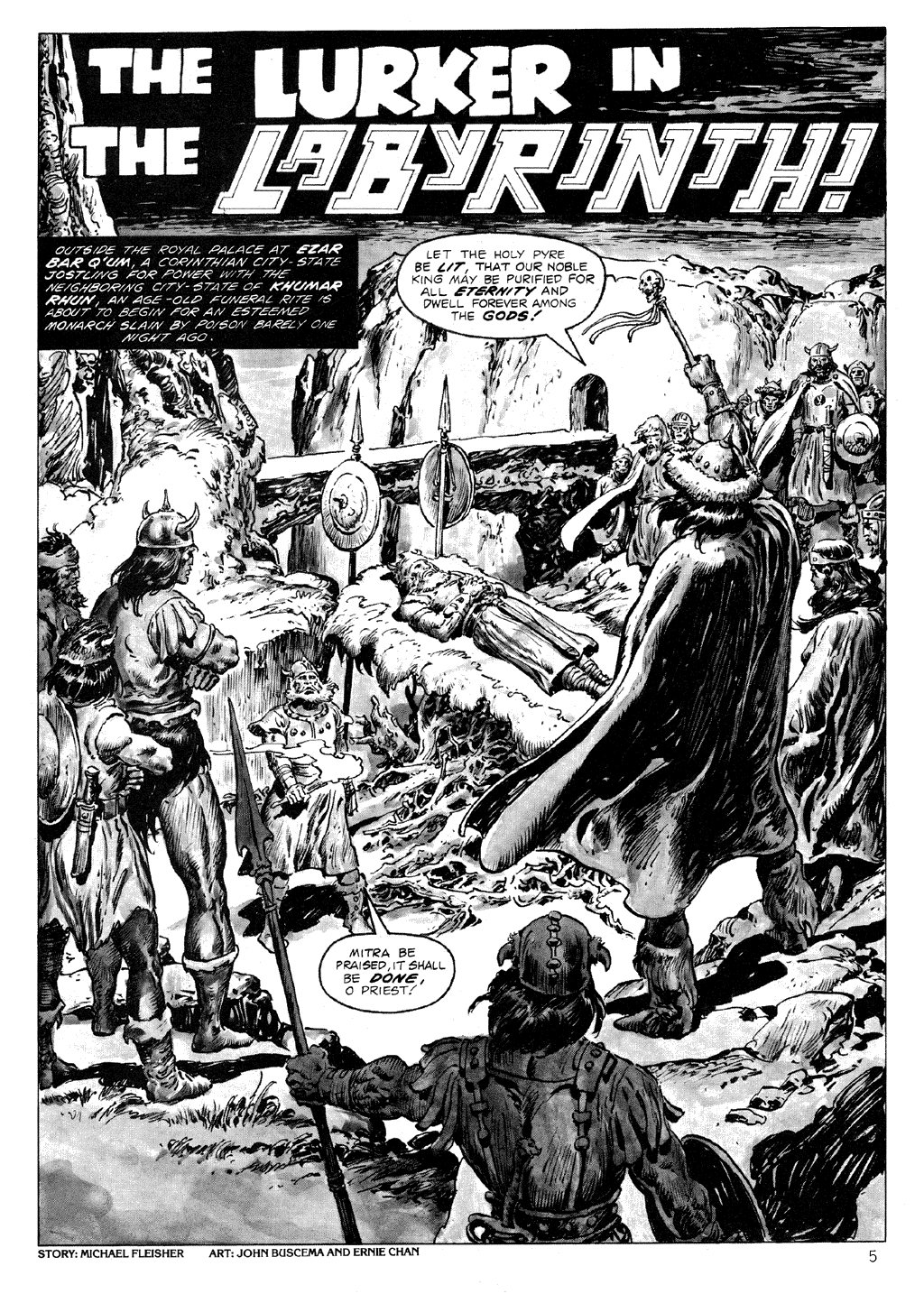 The Savage Sword Of Conan Issue #71 #72 - English 5