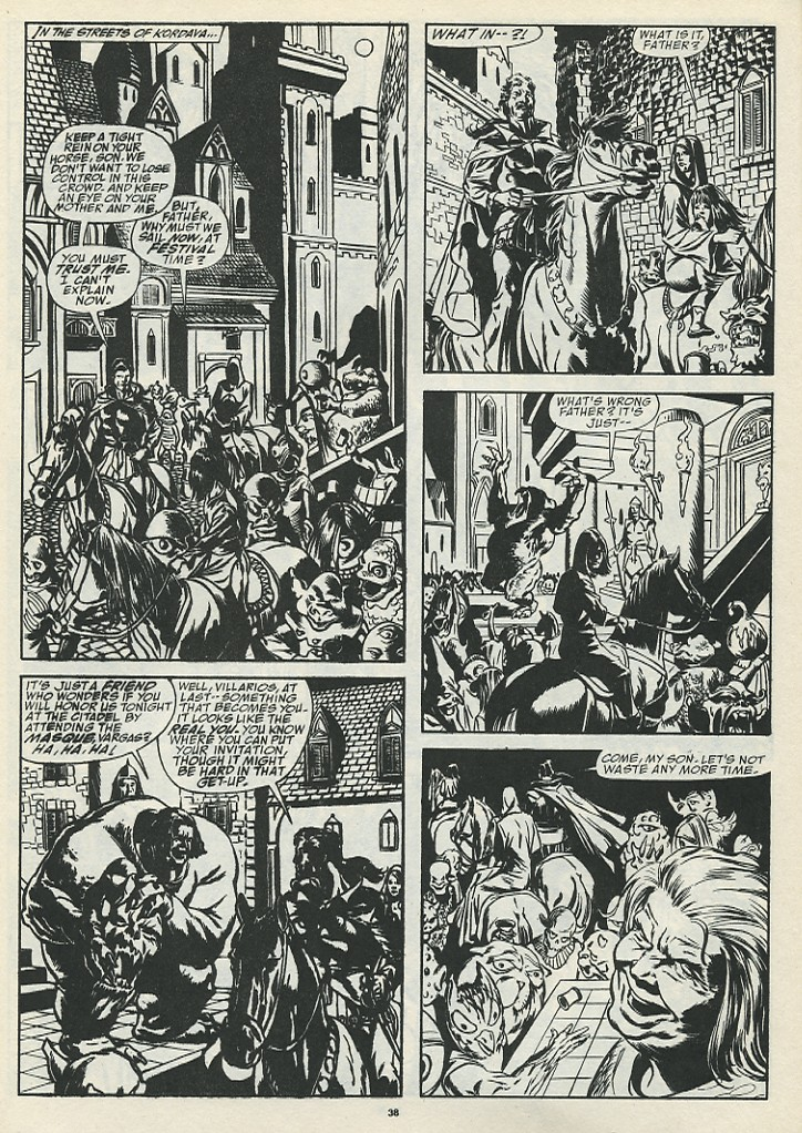 The Savage Sword Of Conan Issue #185 #186 - English 40
