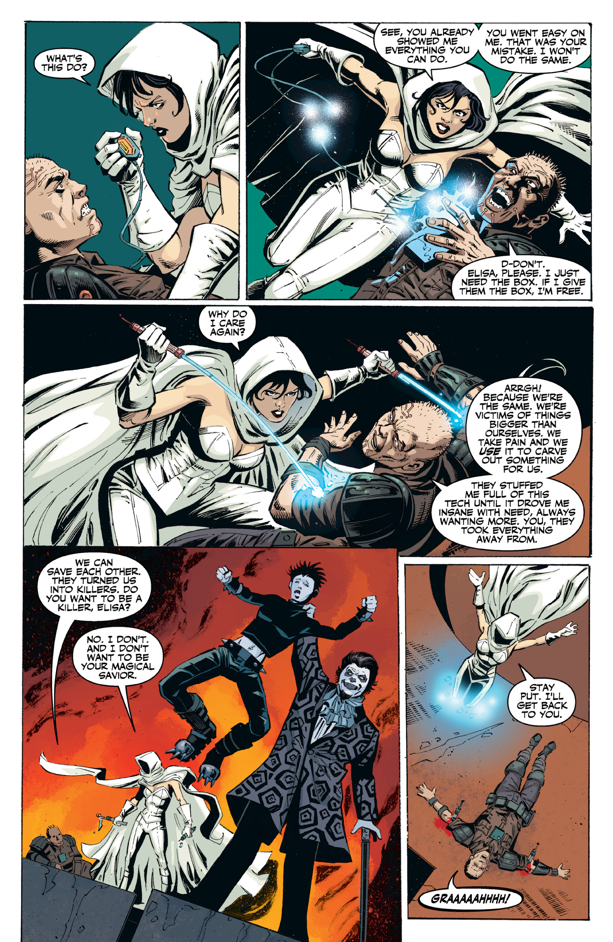 Read online Ghost (2013) comic -  Issue # TPB 2 - 88