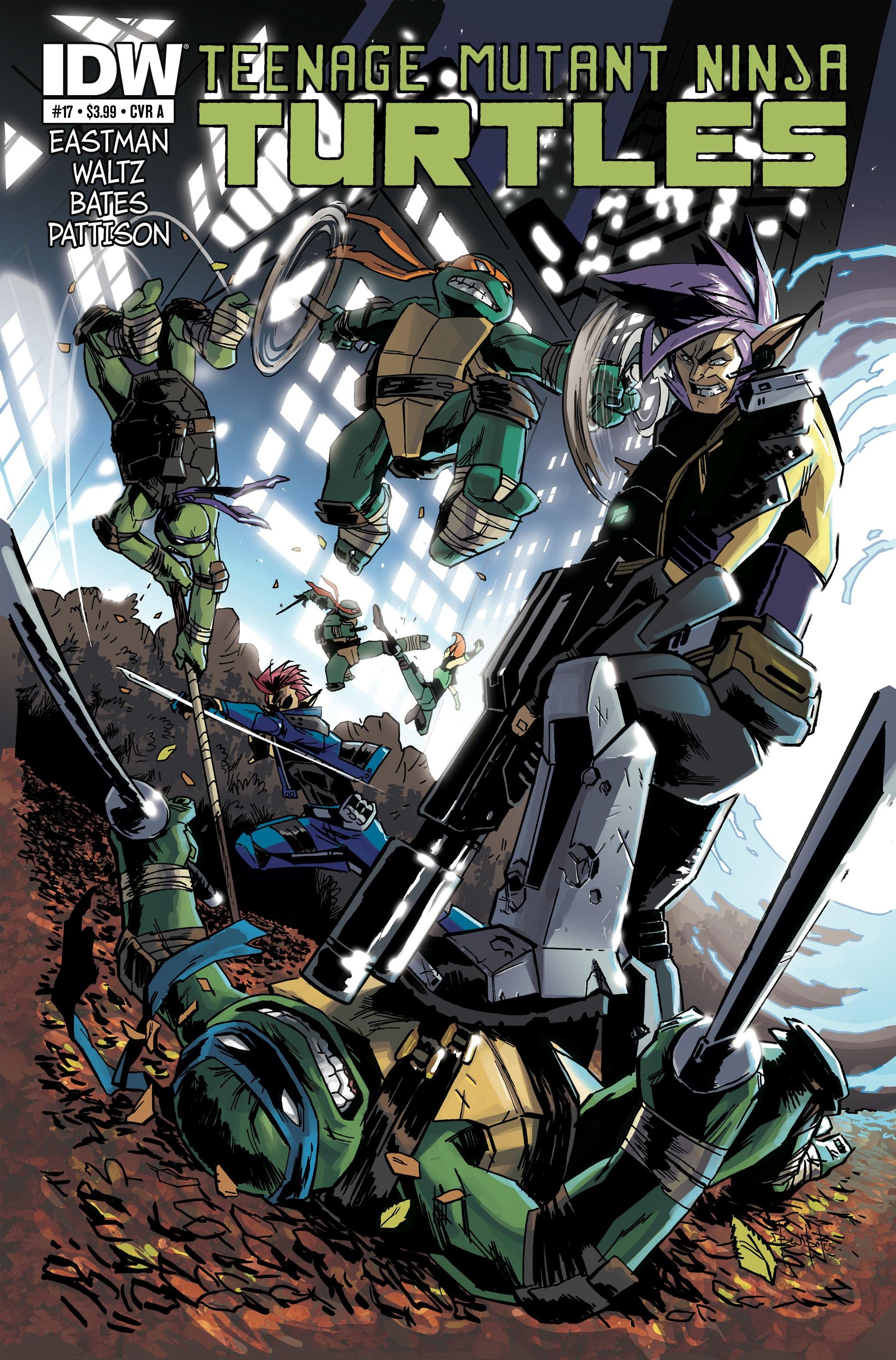 Teenage Mutant Ninja Turtles (2011) 17 Page 1