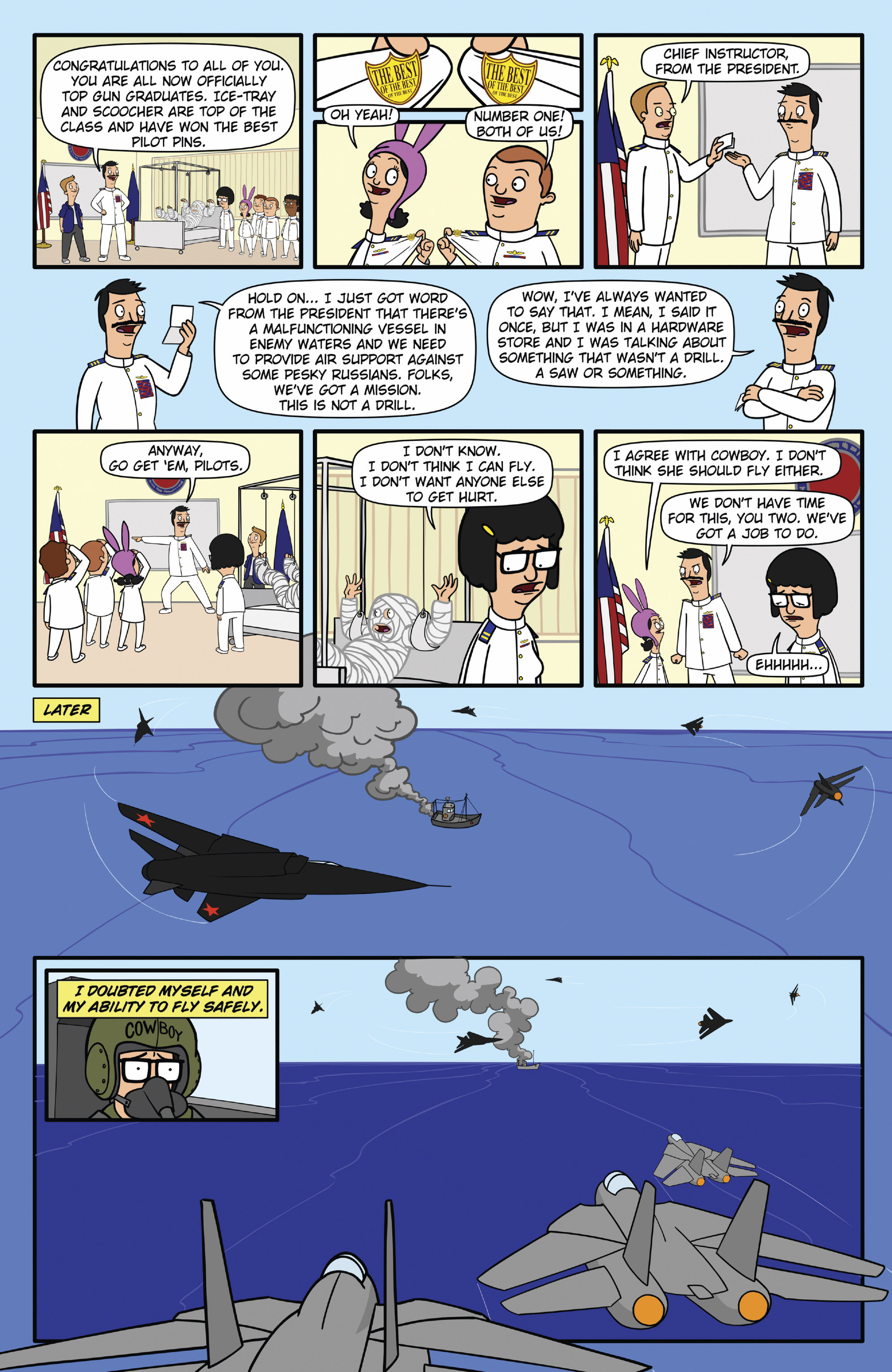 Read online Bob's Burgers (2015) comic -  Issue #12 - 9