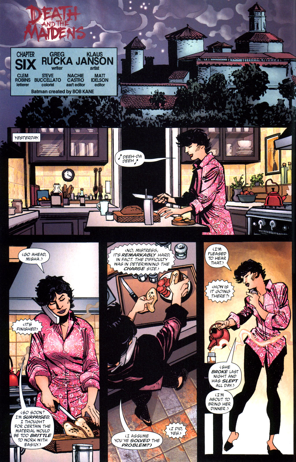 Batman: Death and the Maidens 6 Page 3