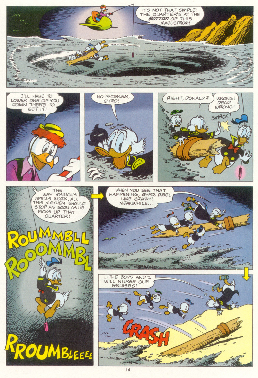 Uncle Scrooge (1953) Issue #267 #267 - English 15