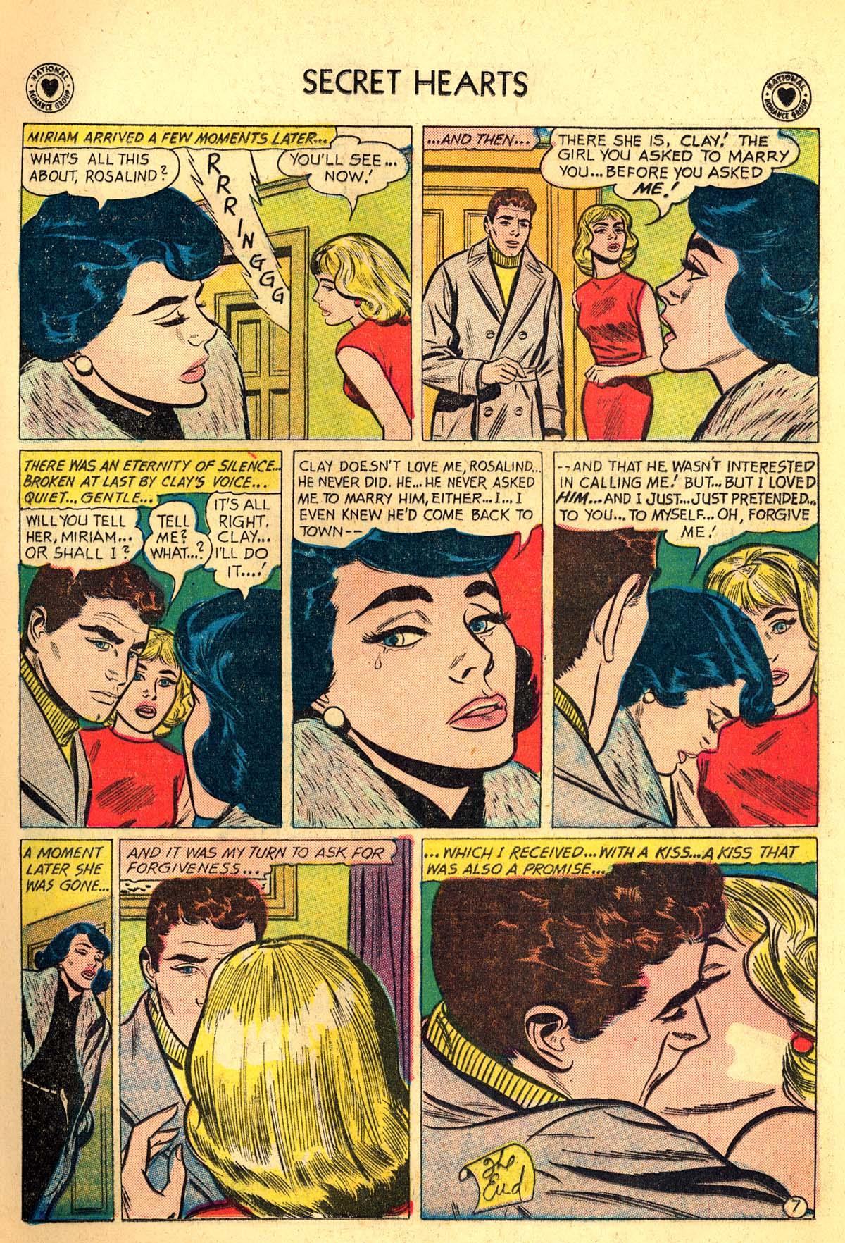 Read online Secret Hearts comic -  Issue #64 - 9