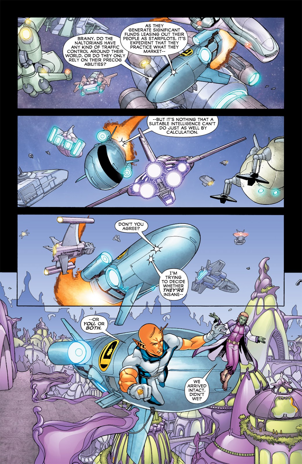 Legion of Super-Heroes (2010) Issue #7 #8 - English 26