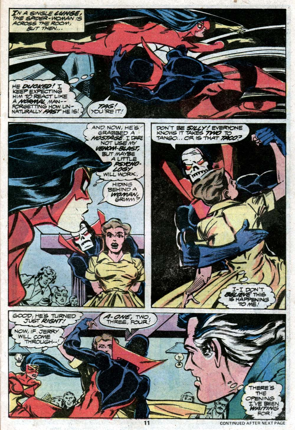Spider-Woman (1978) Issue #11 #11 - English 8