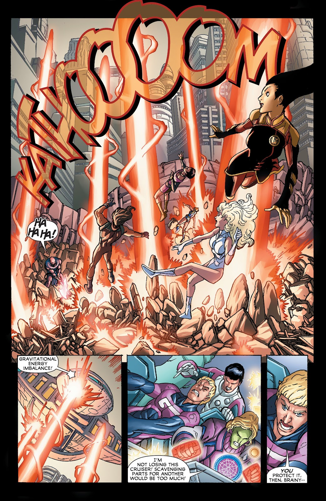 Legion of Super-Heroes (2011) Issue #21 #22 - English 14