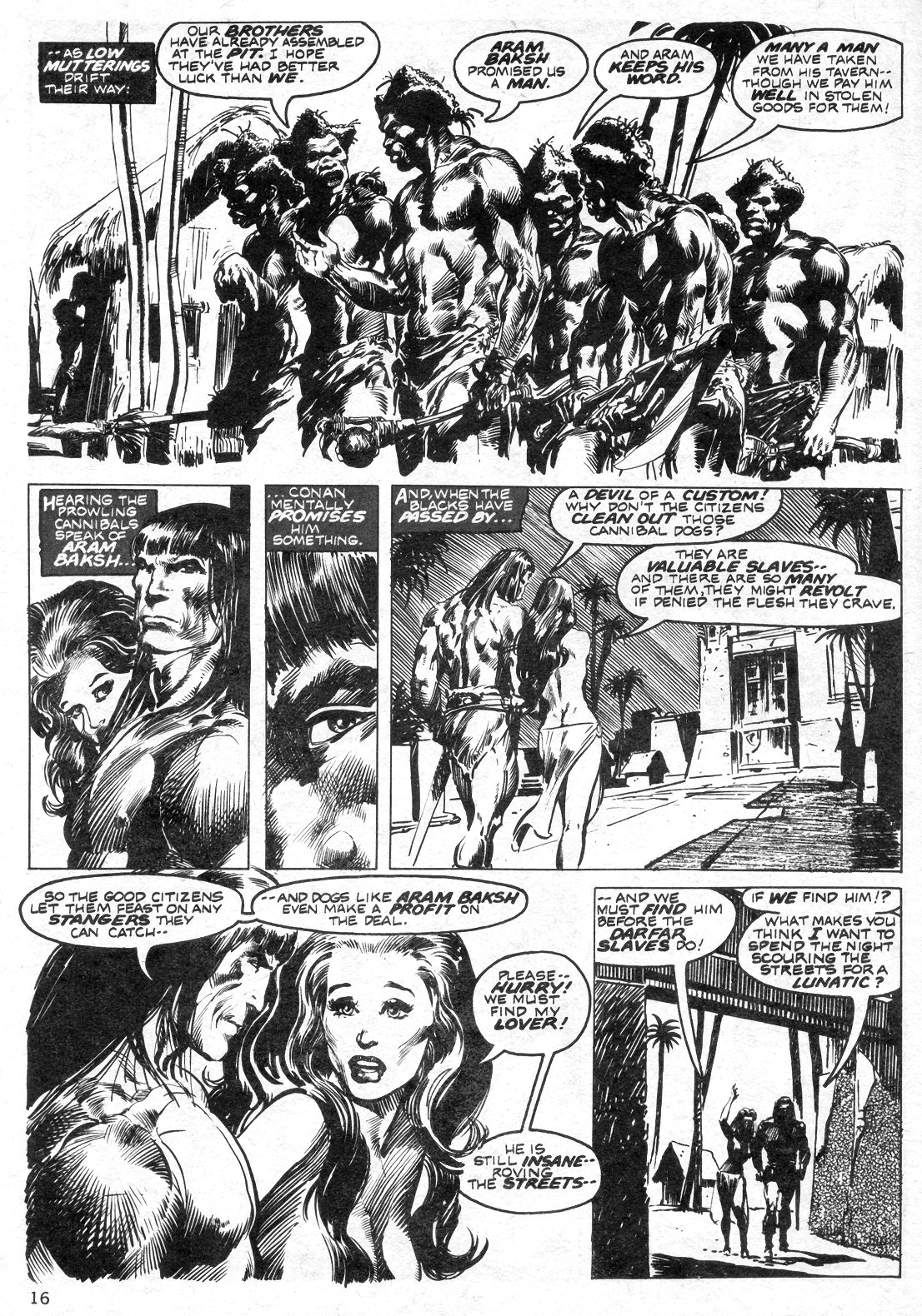 The Savage Sword Of Conan Issue #14 #15 - English 16