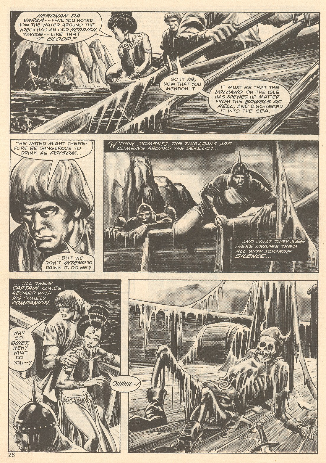The Savage Sword Of Conan Issue #67 #68 - English 26