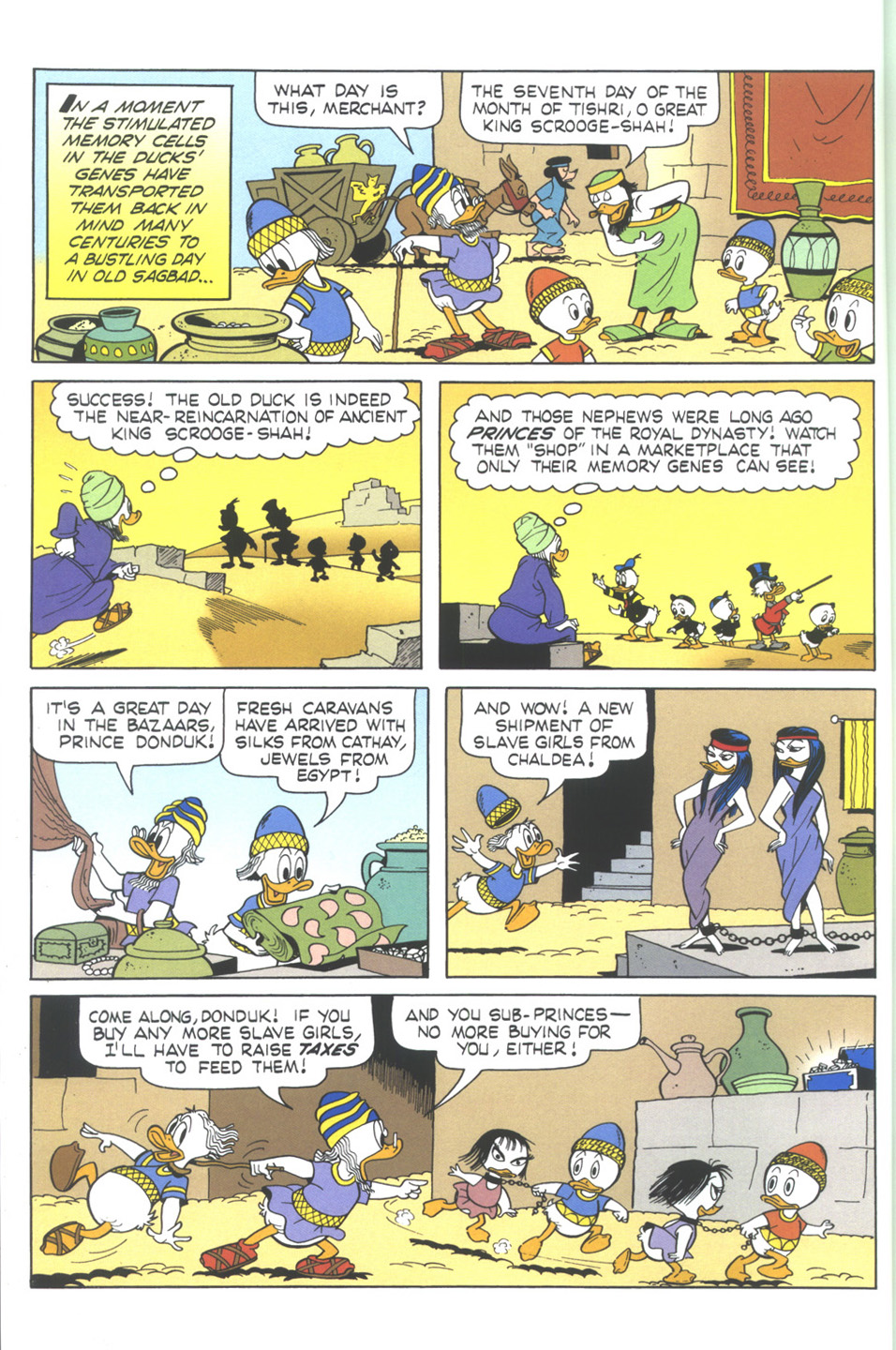 Uncle Scrooge (1953) Issue #345 #345 - English 10