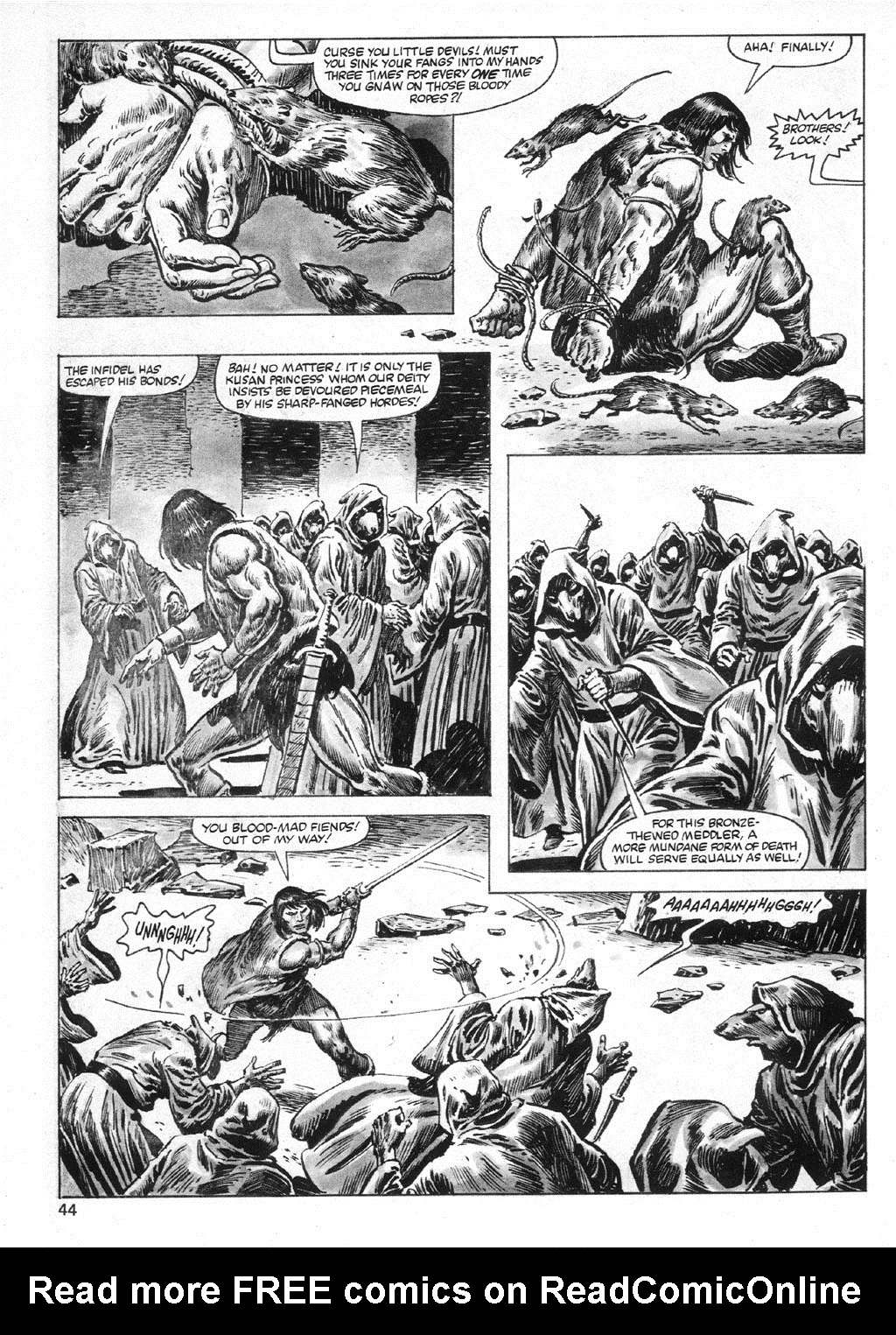 The Savage Sword Of Conan Issue #95 #96 - English 44