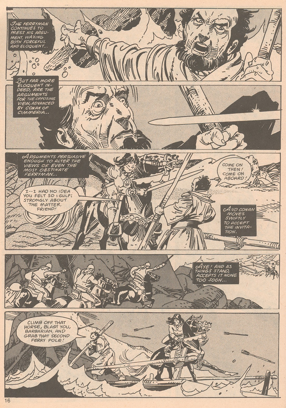 The Savage Sword Of Conan Issue #65 #66 - English 16