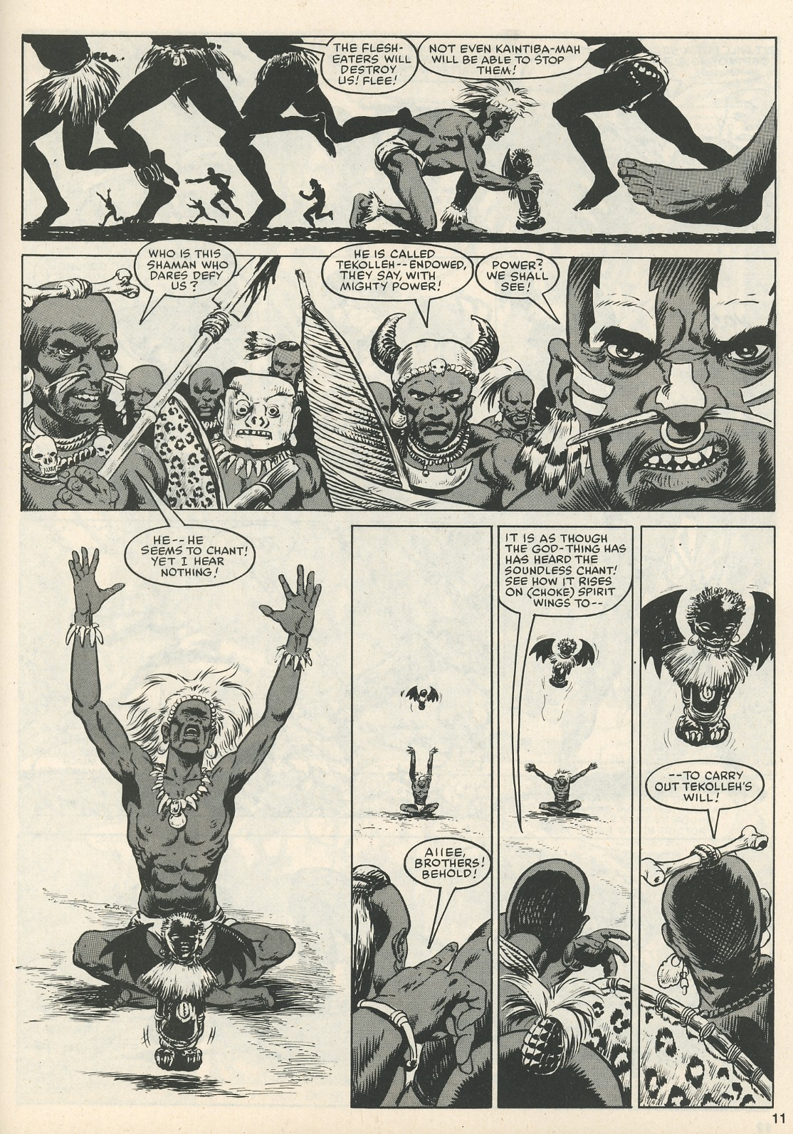The Savage Sword Of Conan Issue #111 #112 - English 11
