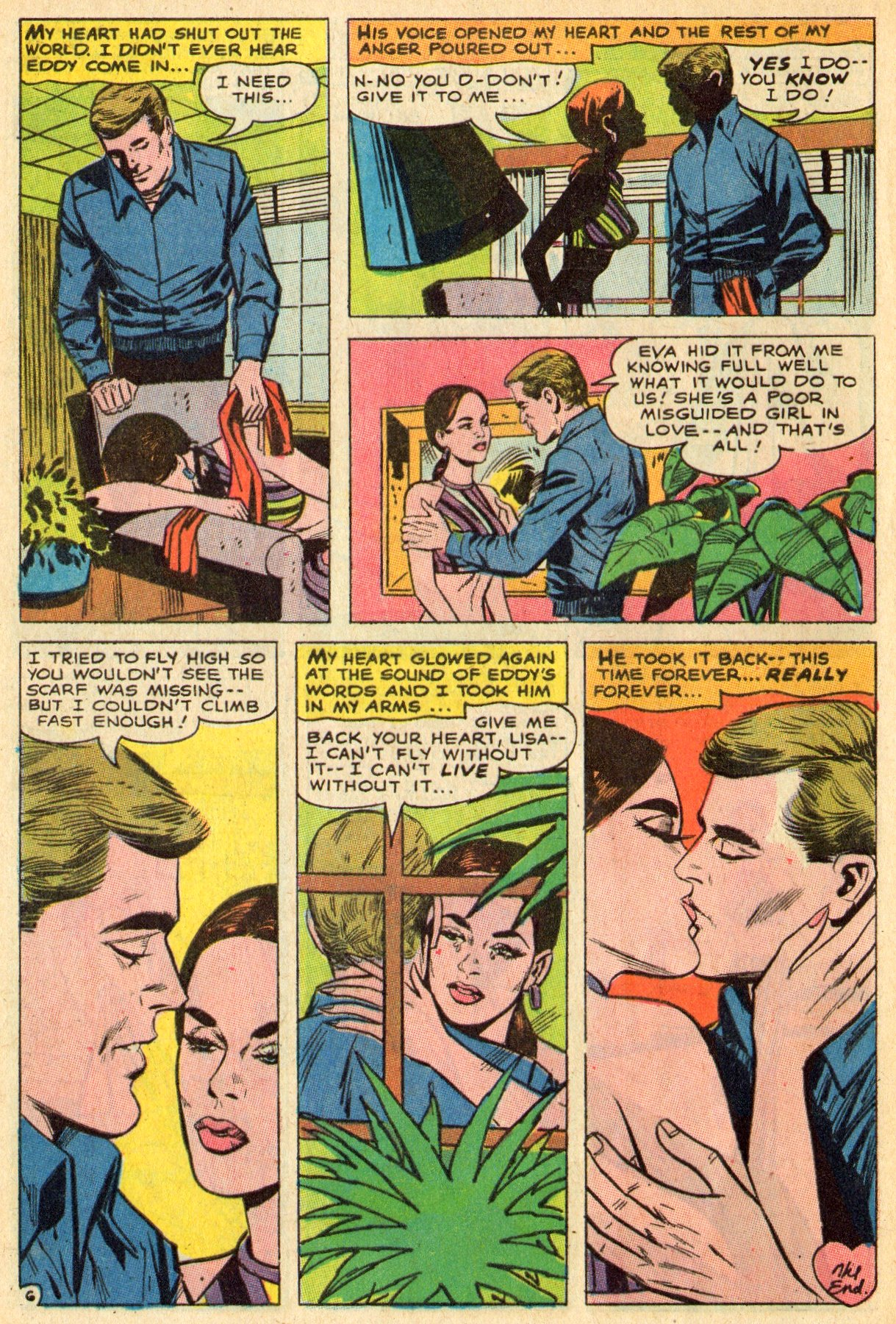 Read online Secret Hearts comic -  Issue #119 - 8
