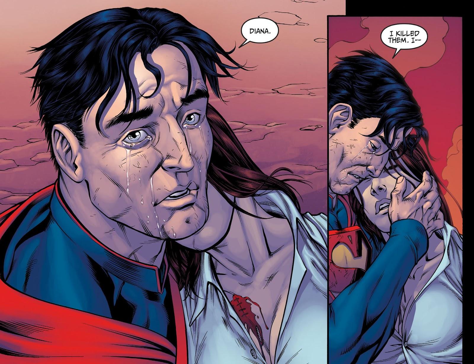 Injustice: Gods Among Us [I] Issue #4 #5 - English 9