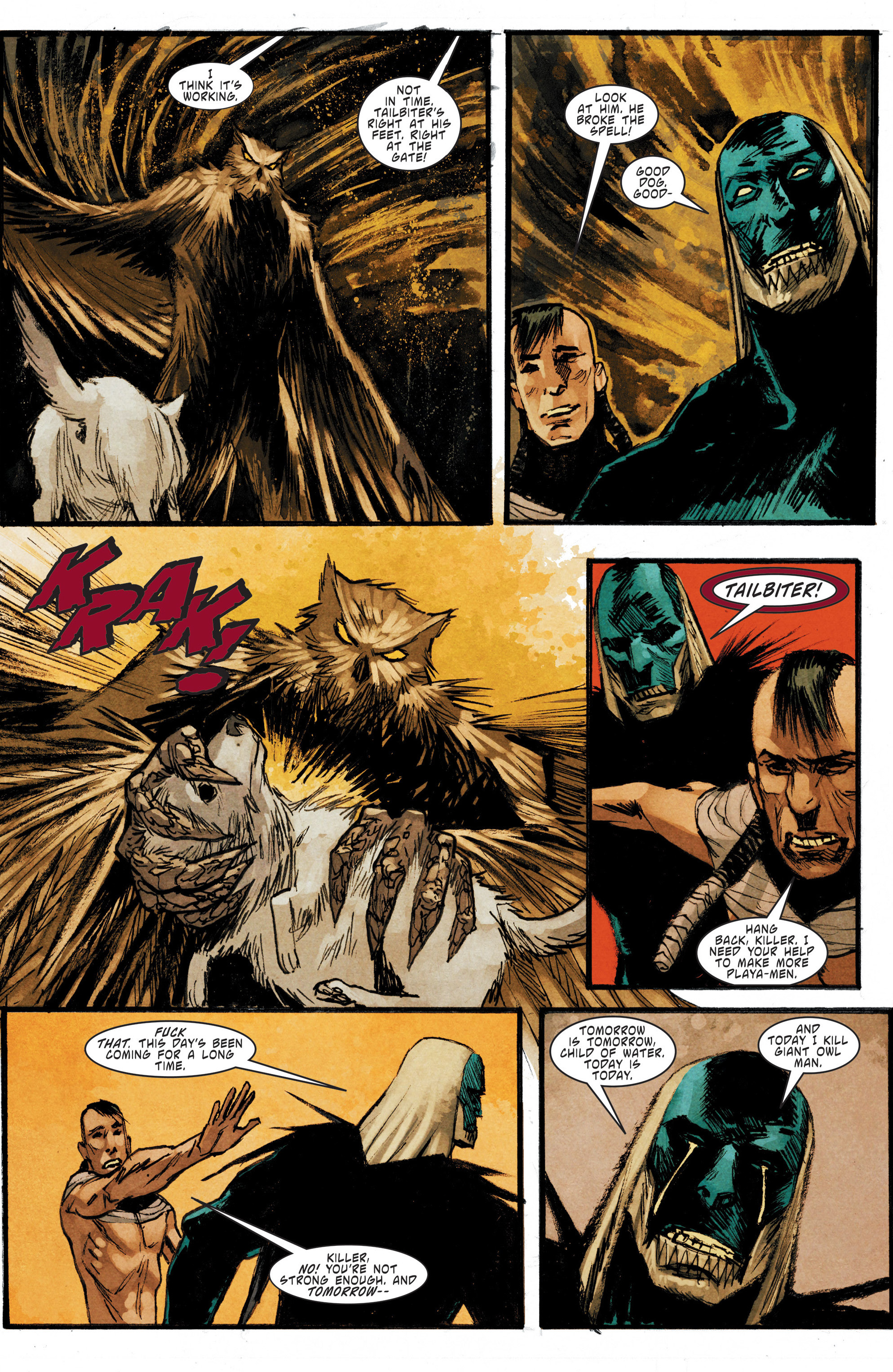 Read online Mythic comic -  Issue #5 - 21