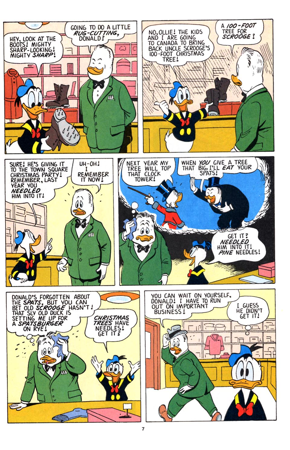 Uncle Scrooge (1953) Issue #251 #251 - English 8