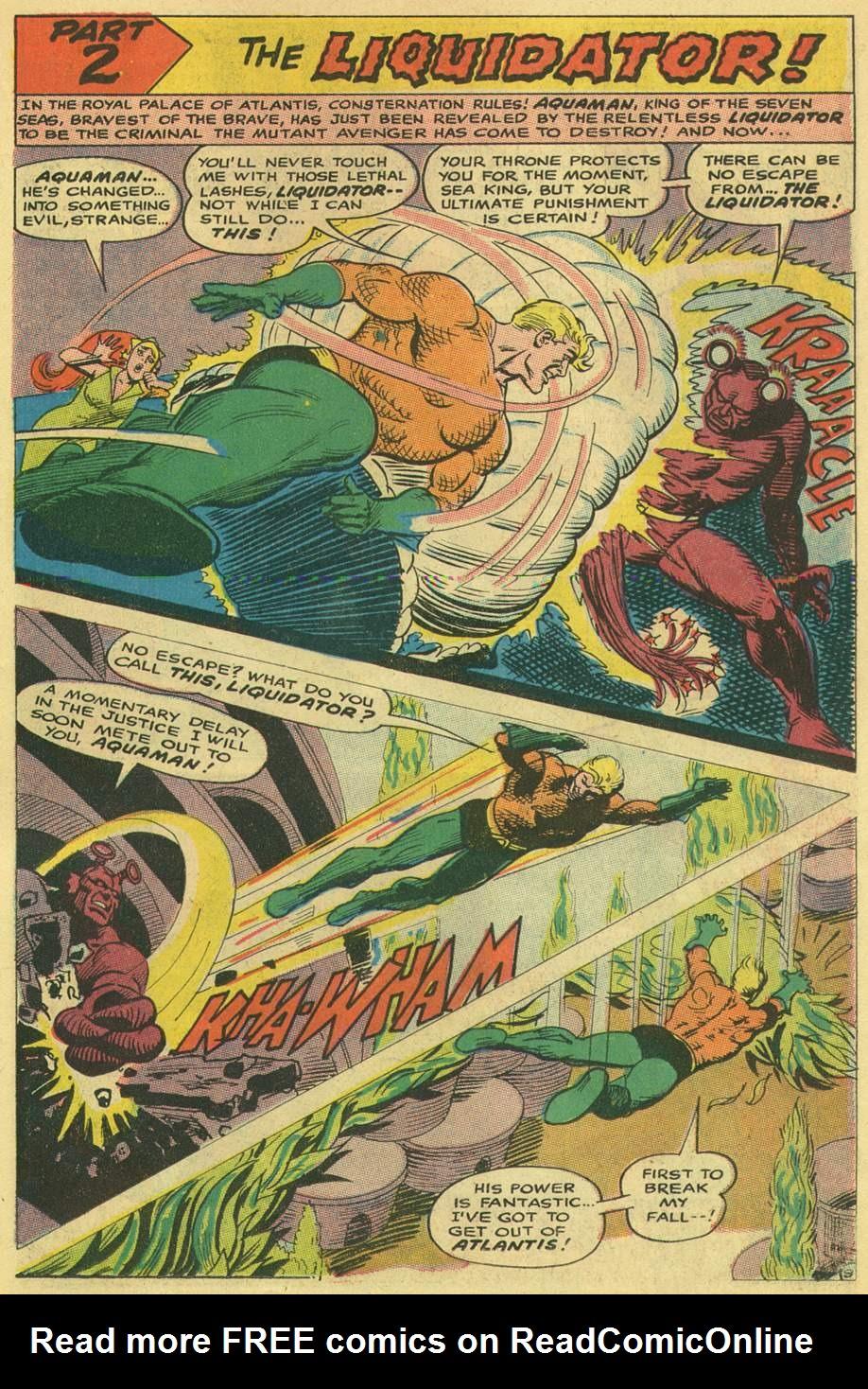 Aquaman (1962) Issue #38 #38 - English 15