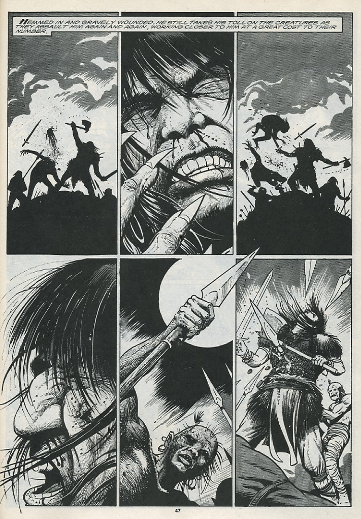 The Savage Sword Of Conan Issue #176 #177 - English 49