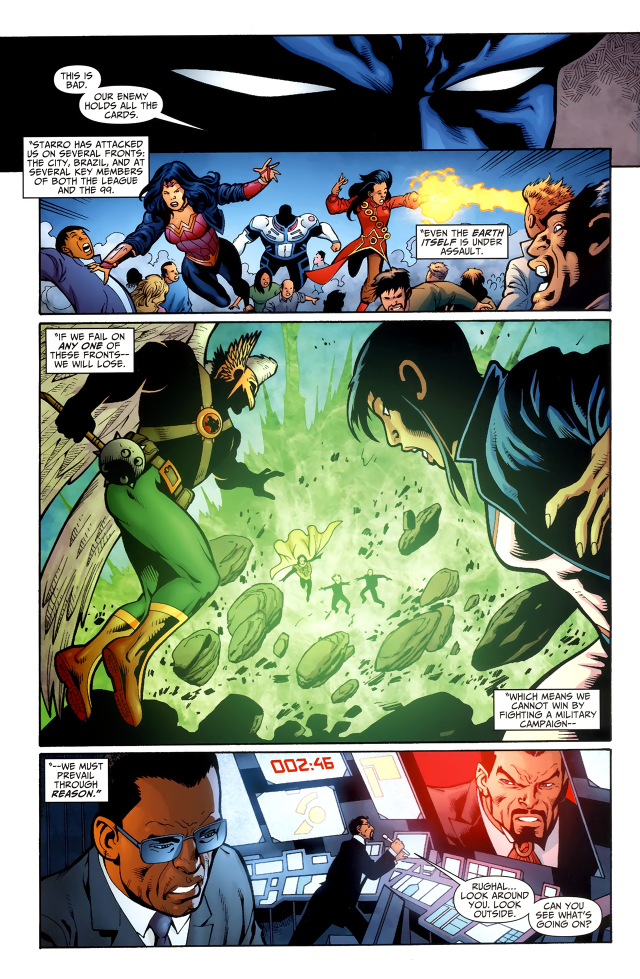 Read online Justice League of America/The 99 comic -  Issue #5 - 18