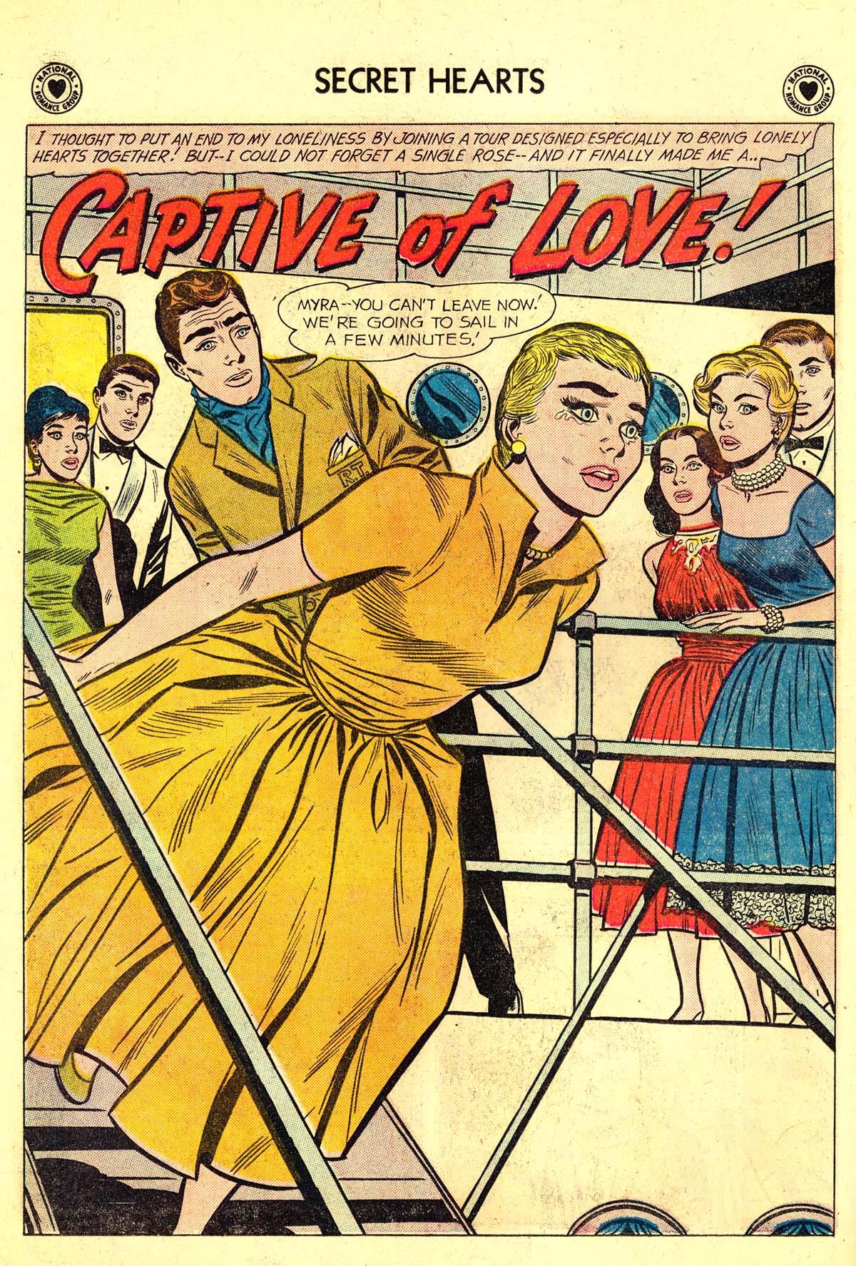 Read online Secret Hearts comic -  Issue #64 - 10
