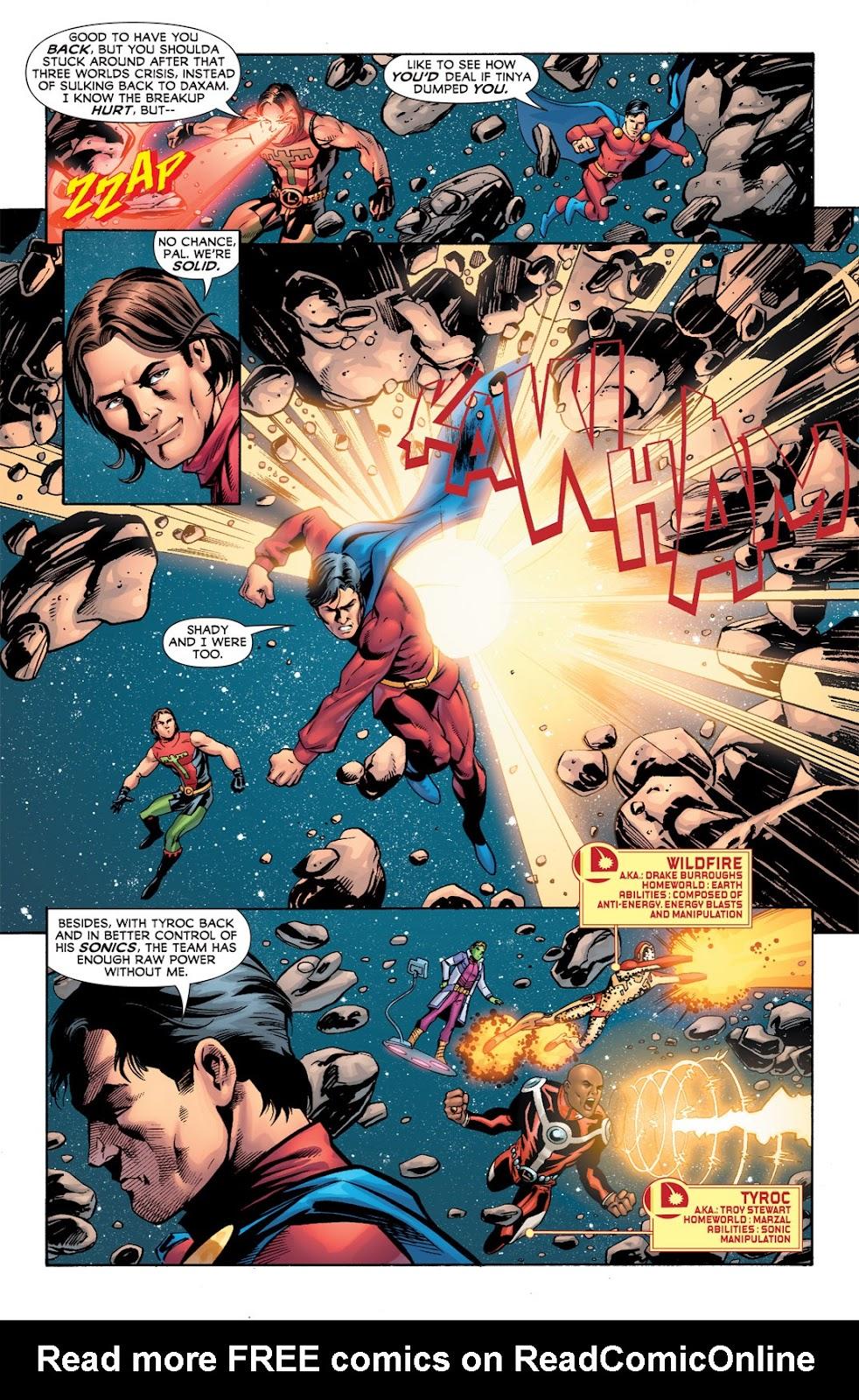 Legion of Super-Heroes (2010) Issue #2 #3 - English 4