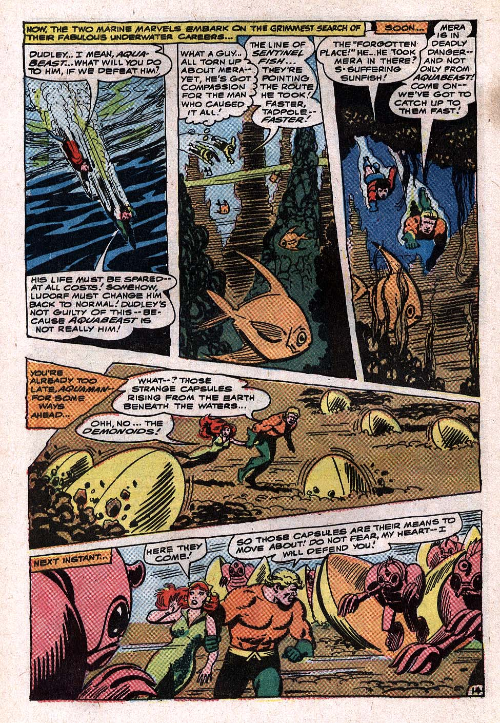Aquaman (1962) Issue #34 #34 - English 20
