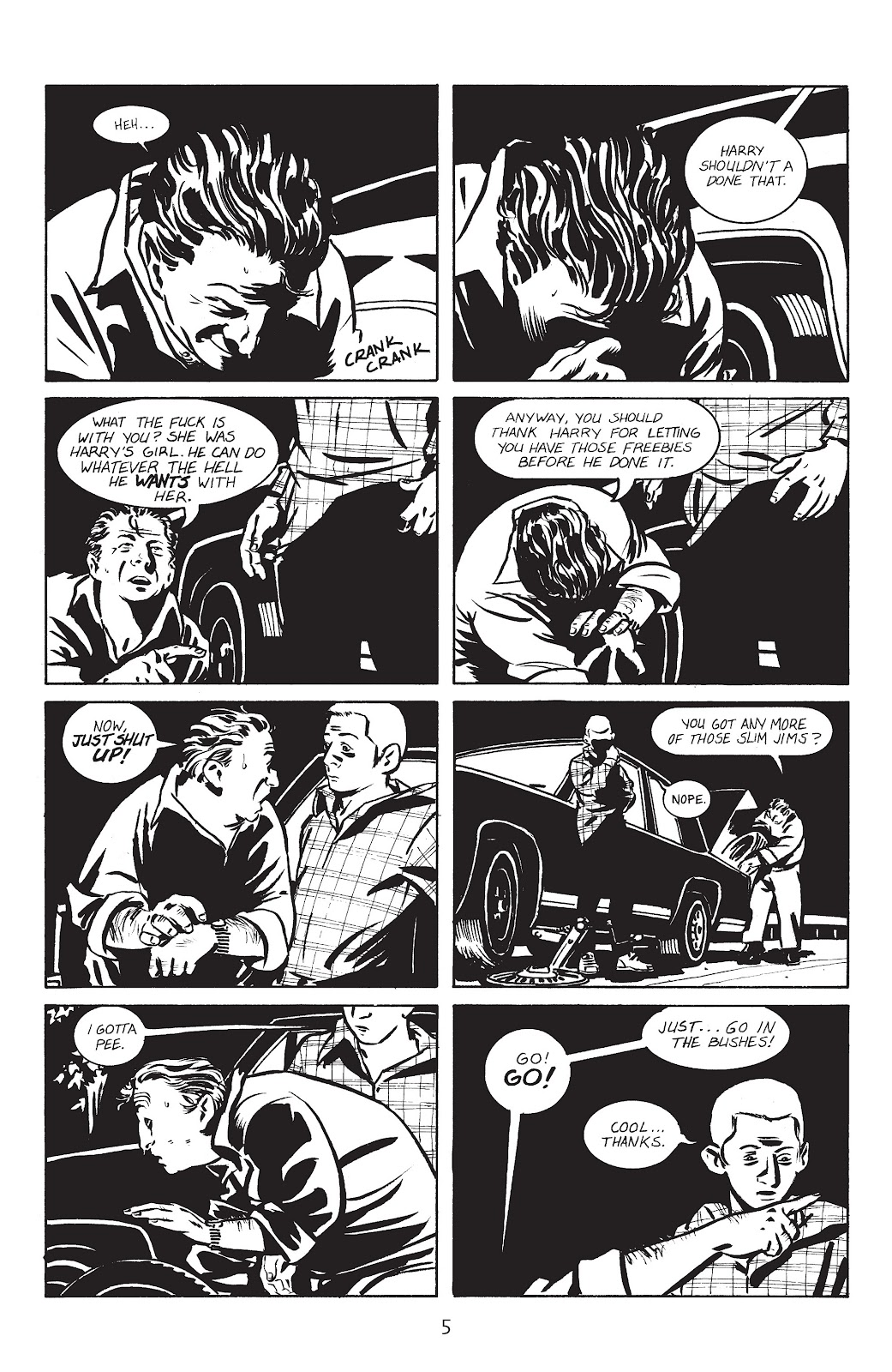 Stray Bullets Issue #1 #1 - English 8