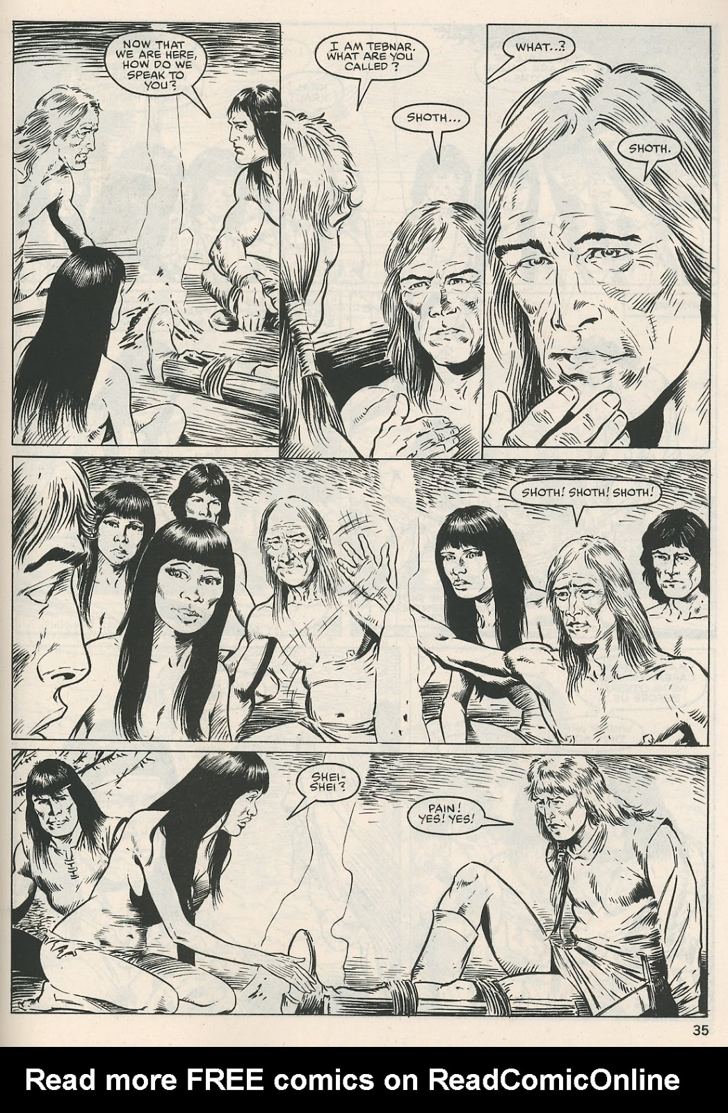 The Savage Sword Of Conan Issue #115 #116 - English 35