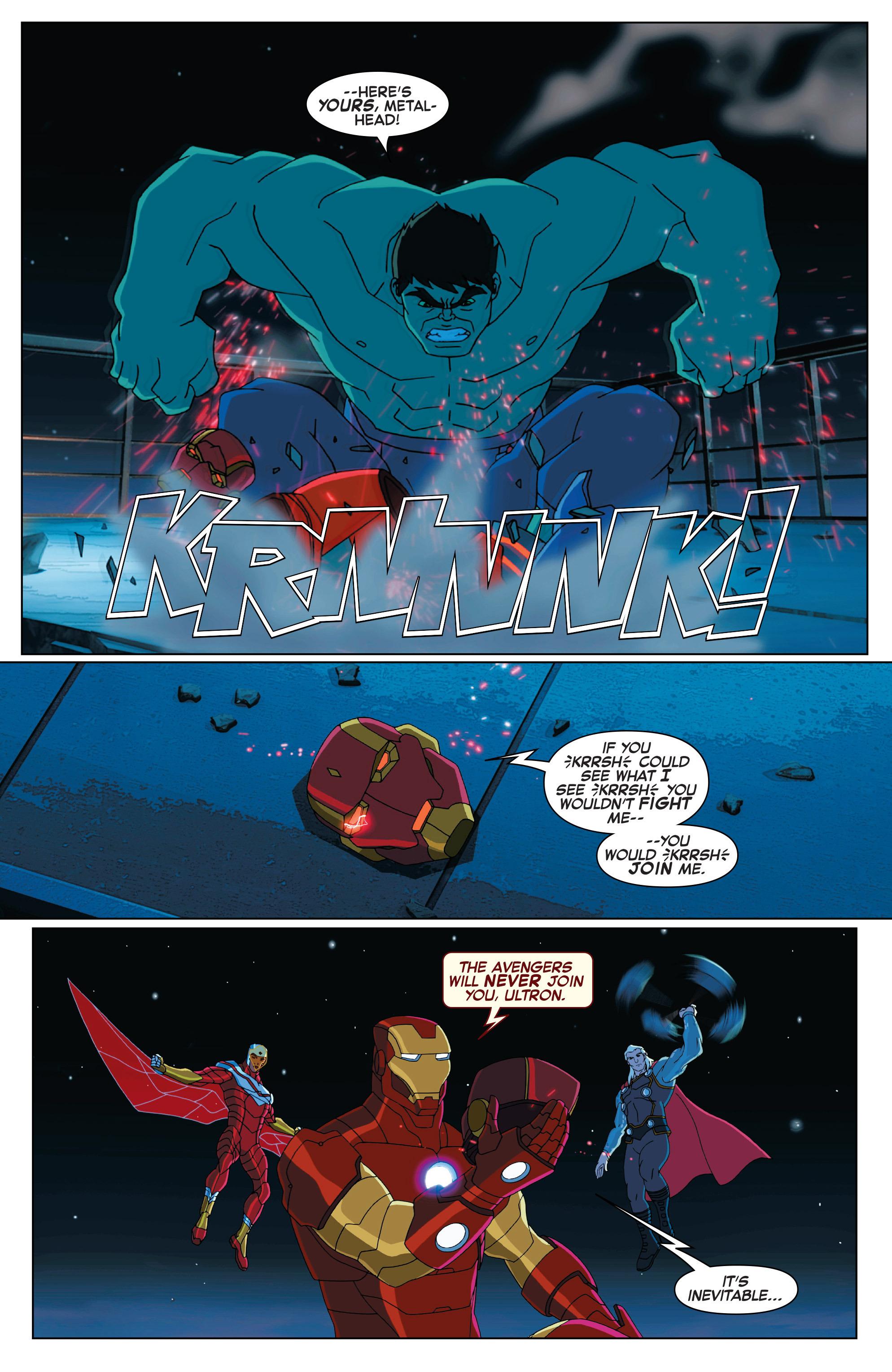 Read online Marvel Universe Avengers: Ultron Revolution comic -  Issue #2 - 21