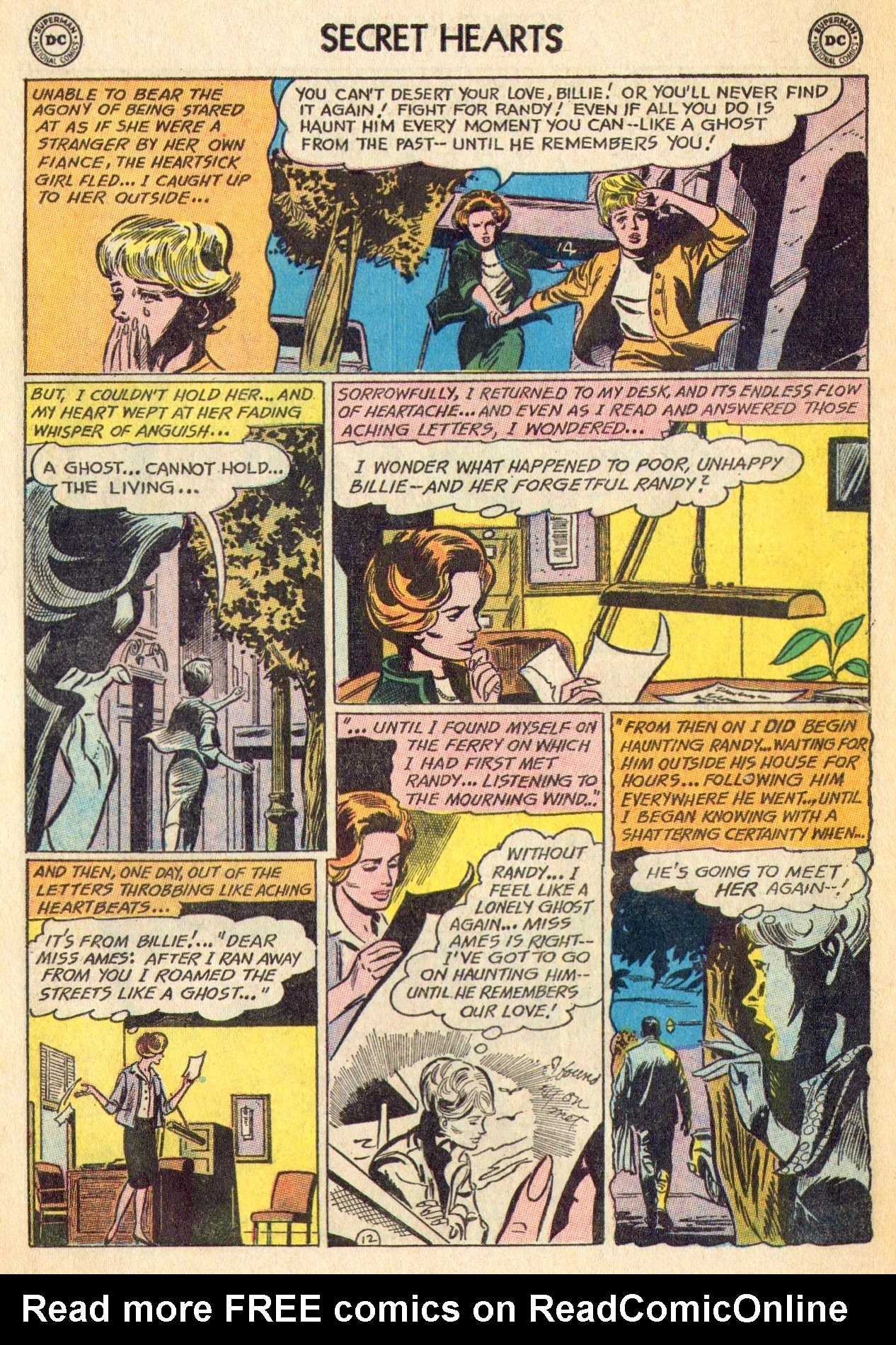 Read online Secret Hearts comic -  Issue #101 - 30