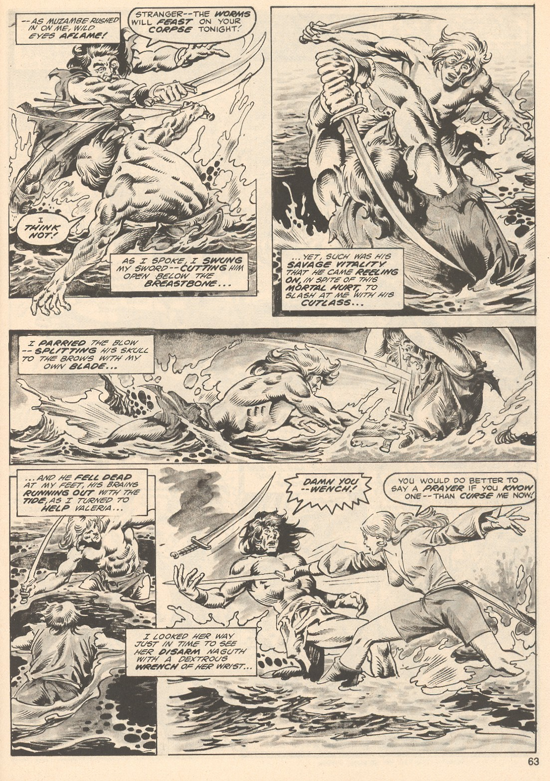 The Savage Sword Of Conan Issue #76 #77 - English 63