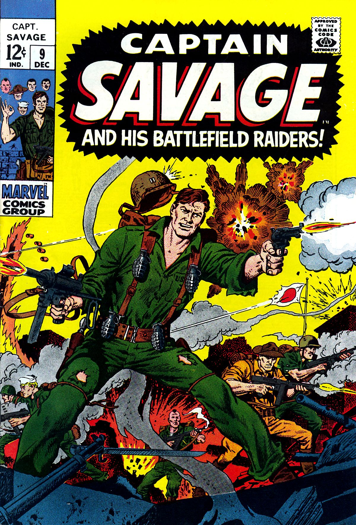 Captain Savage and his Leatherneck Raiders 9 Page 1