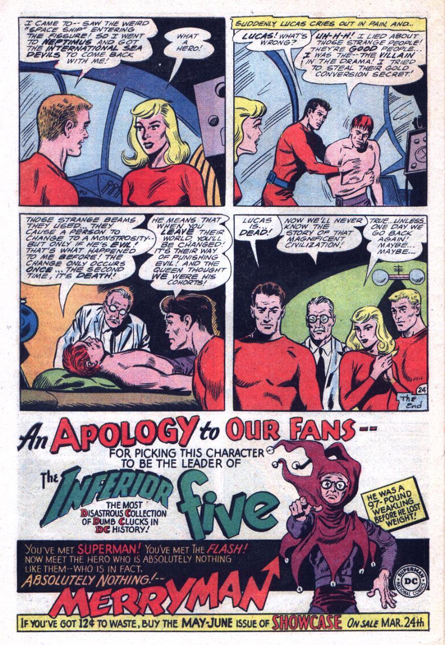 Read online Sea Devils comic -  Issue #29 - 33