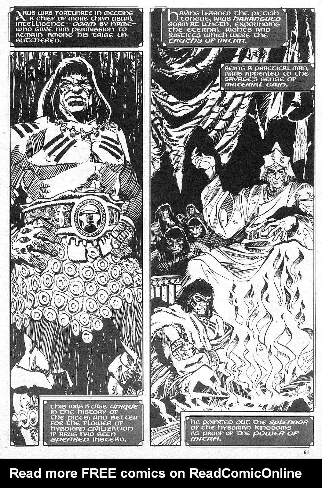 The Savage Sword Of Conan Issue #15 #16 - English 60