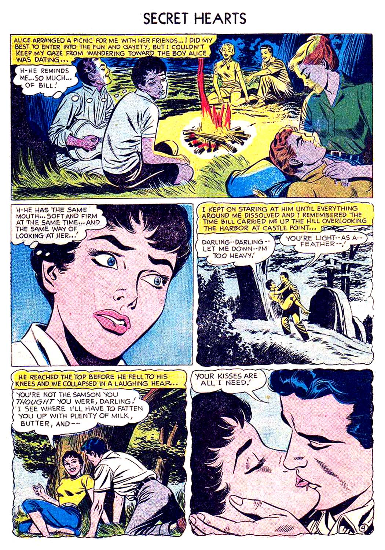 Read online Secret Hearts comic -  Issue #41 - 30
