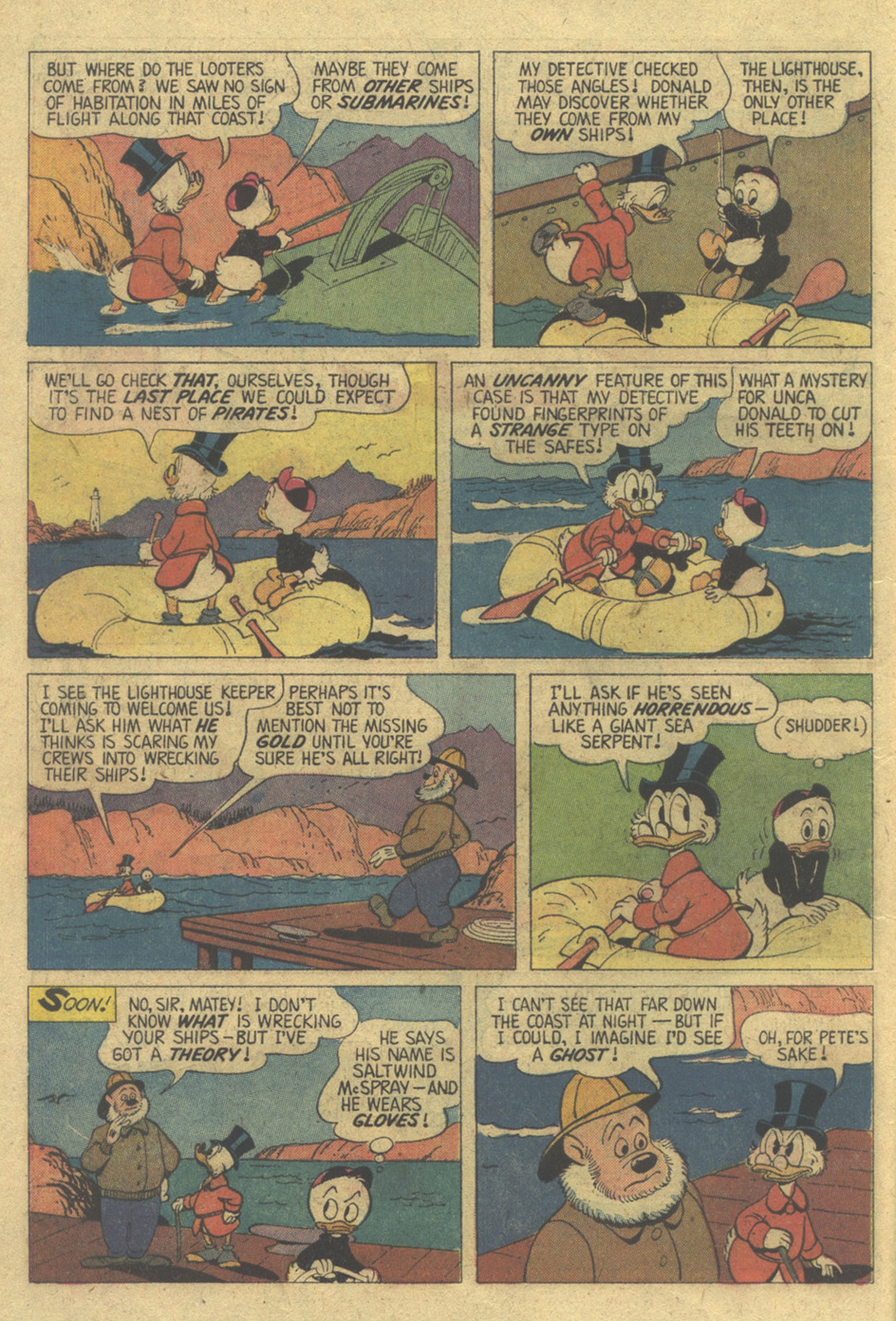 Uncle Scrooge (1953) Issue #119 #119 - English 10