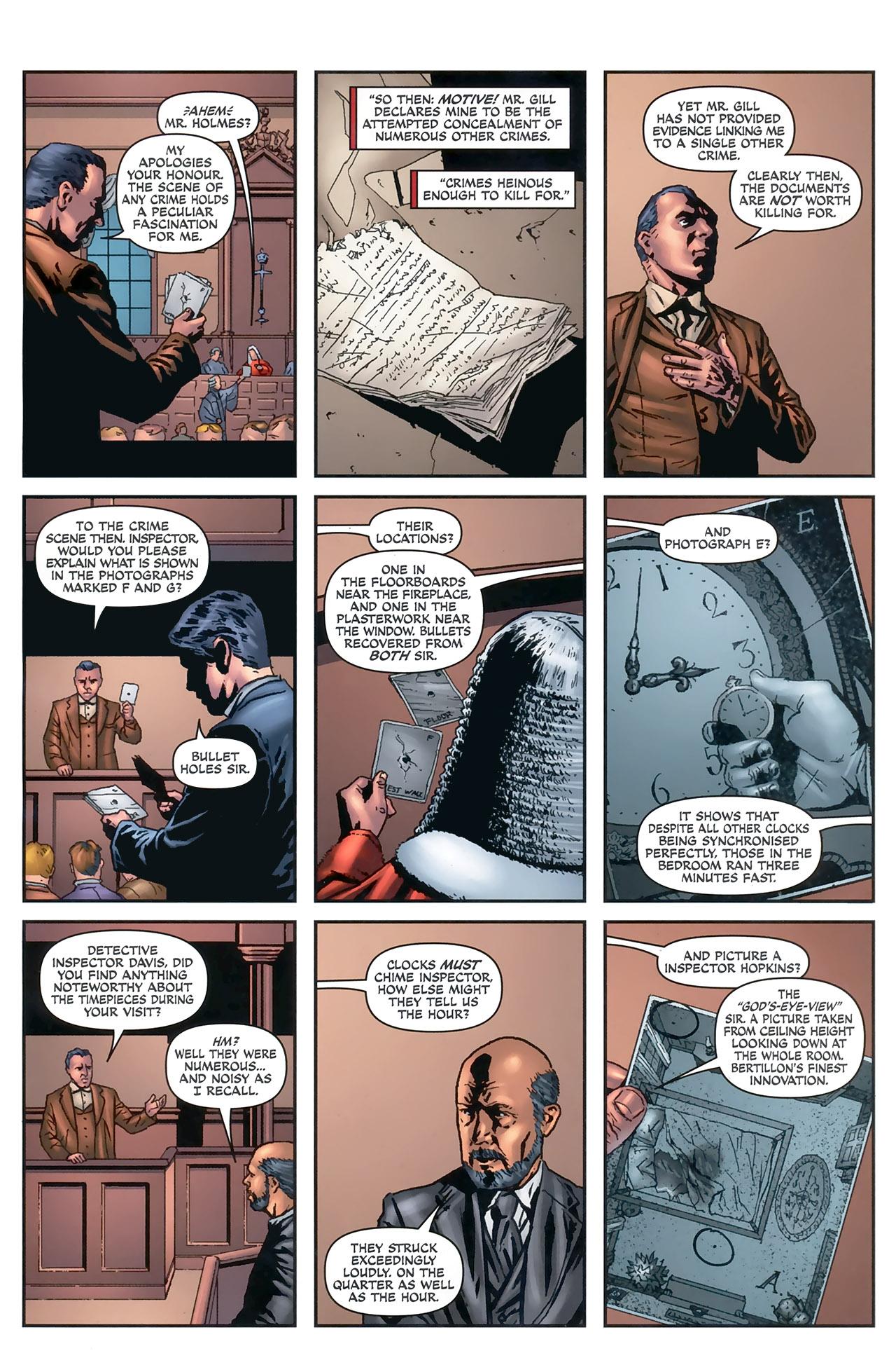 Read online Sherlock Holmes (2009) comic -  Issue #5 - 16