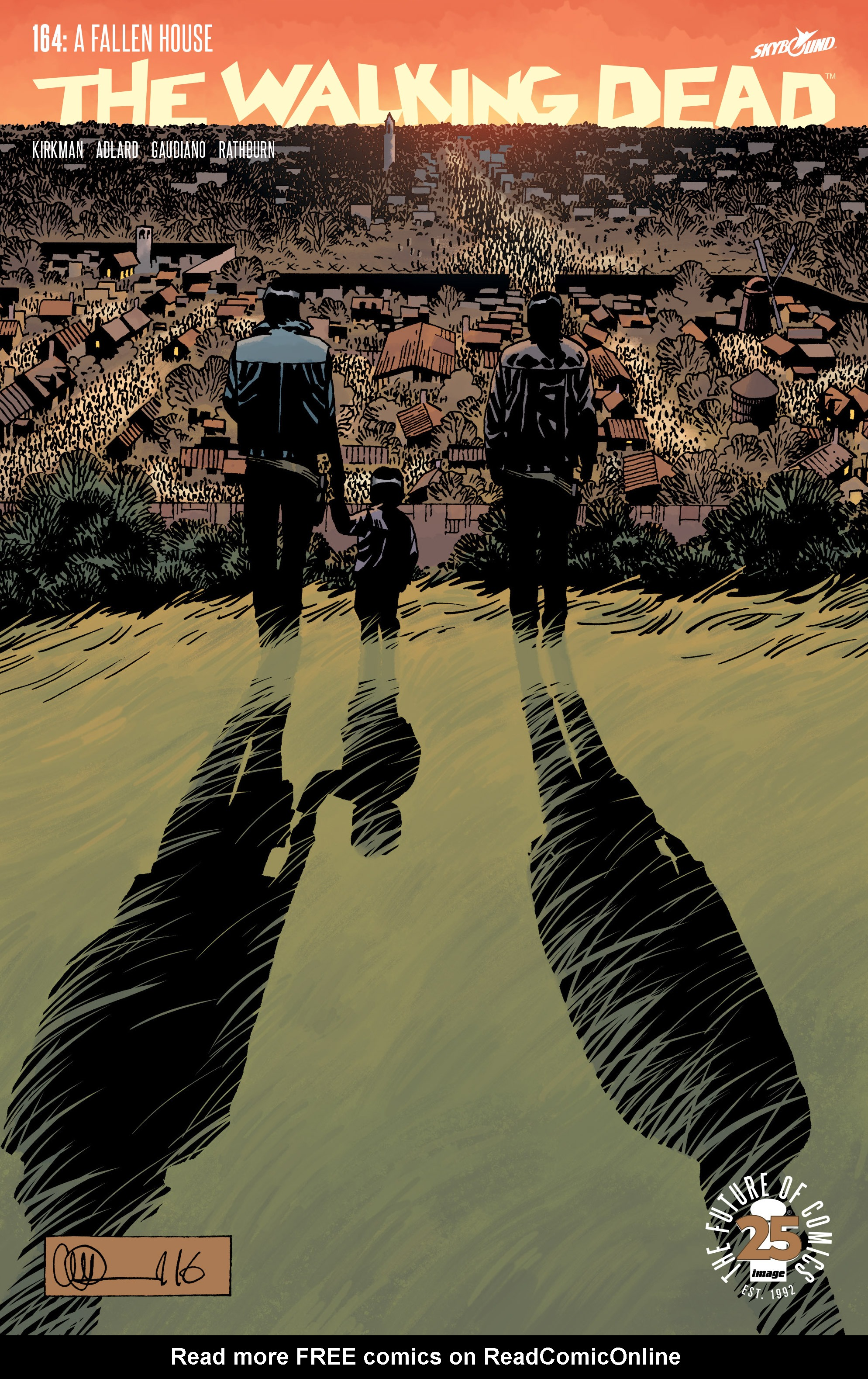 The Walking Dead 164 Page 1