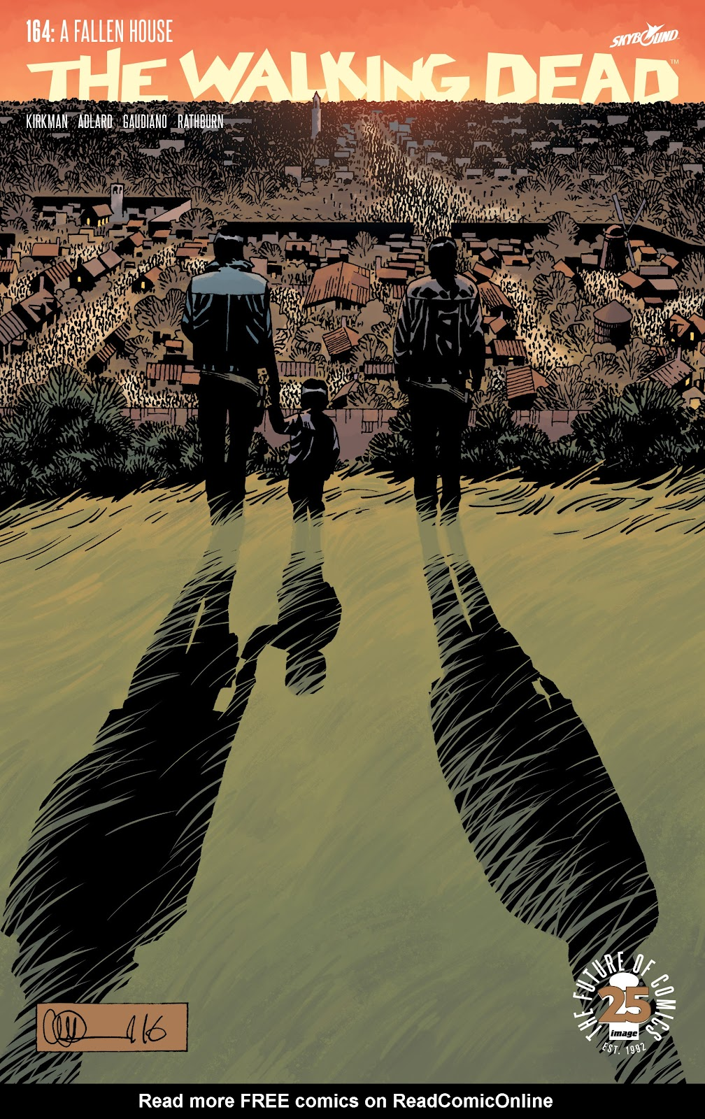 The Walking Dead Issue #164 Page 1